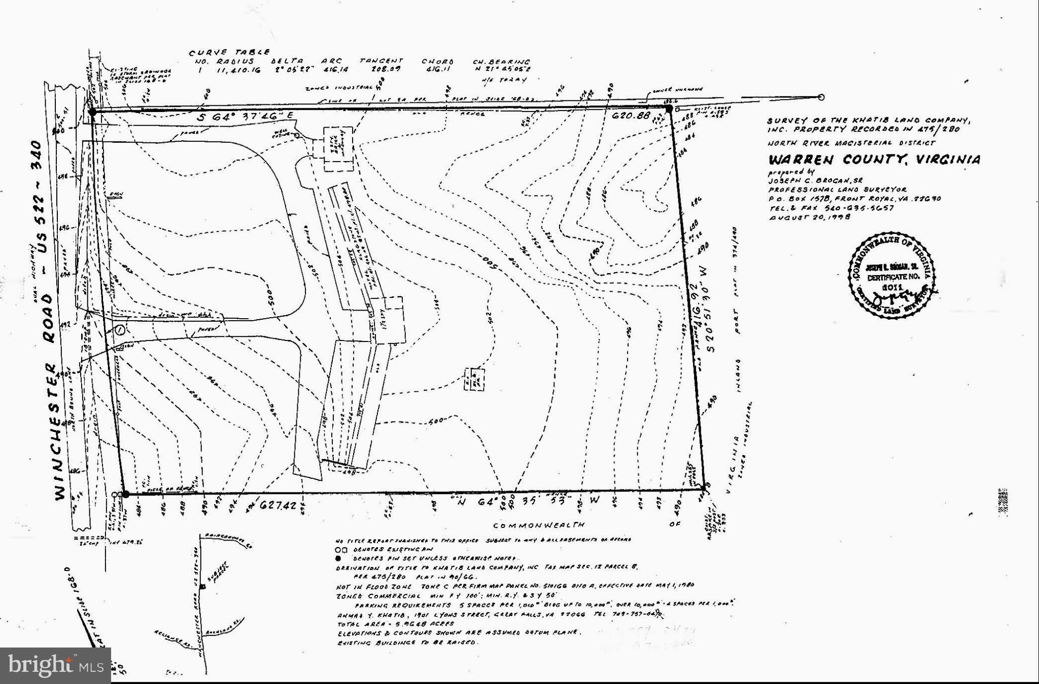 WINCHESTER ROAD, FRONT ROYAL, VA 22630