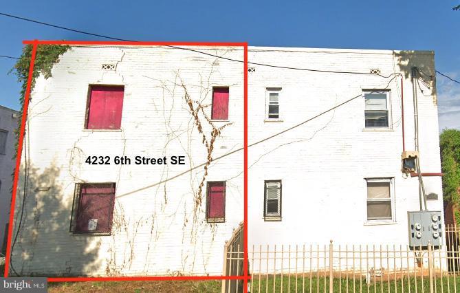 4232 6TH STREET SE, WASHINGTON, DC 20032