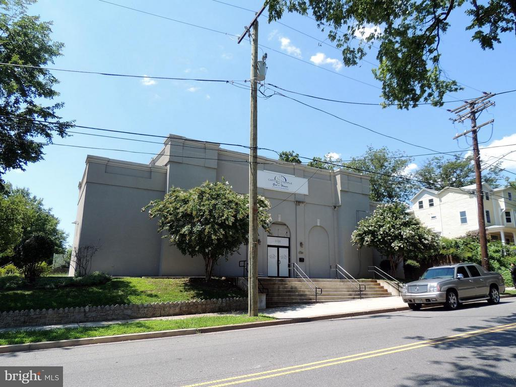Perfect conversion opportunity in Brookland. Former theater space. Currently being used as a church. Sanctuary can seat up to 250+ members.  Four office space upstairs. Corner lot with great visibility.