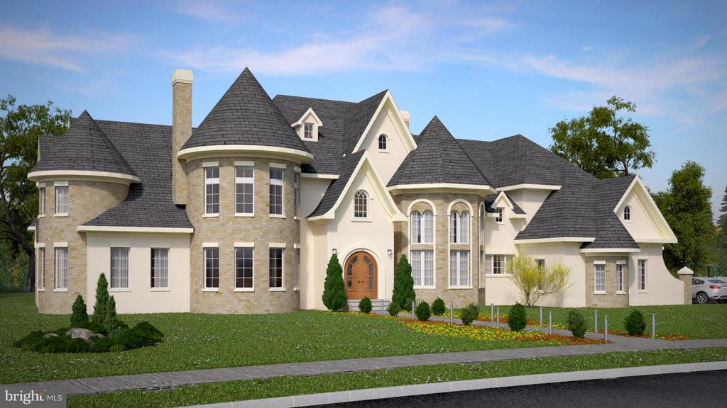 New Construction by ALM Builders in prime subdivision on public water & gas, just minutes to G.F. Village! The Persian Rose model is a gorgeous 7-bedroom luxury home with 15,000 sf, 4-car garage, stone/stucco exterior, 2-story foyer, marble & hdwd floors, gourmet kitchen w/top appliances, study/office, cinema, sauna, pool, gazebo, and more! Sumptuous elegance with a modern flair!