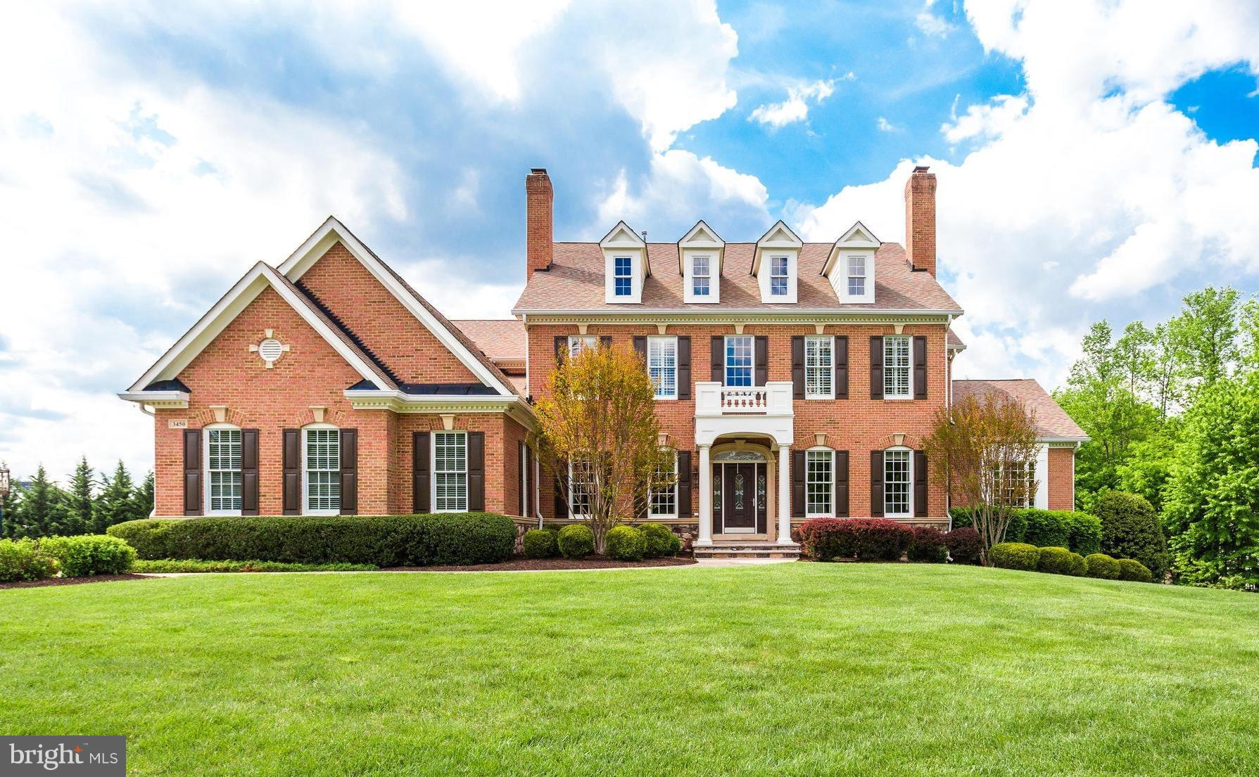 STUNNING BRICK & STONE MASTERPIECE* Over 9100 sf* 4 FP* Dual Strcases, Intricate Iron & Hardwood* Awe-inspiring Chef's Kit w Wolf/Sub Zero, Bertch Cherry Inlaid Cab*Morning Rm w/BI Cabinetry* Sunrm w/WI Closet, Full BA* Enormous MBR w Sitting Rm w Wet Bar & FP* Luxe MBath w Tray Clg* 2 Main Lvl Studies* WO LL Rec Rm w Wet Bar, Game Rm, 5th BR w FB. 2 Porches, Patio & Firepit*DESIGNED TO PERFECTION