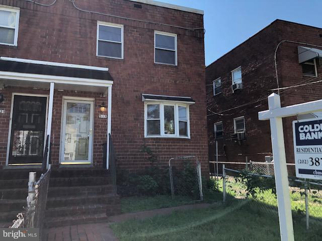Rehab Ready!  Semi-Detached brick home with deep rear yard, driveway off street parking. 3 bedrooms and 2 full bathrooms with a full basement.  This is a perfect opportunity for the seasoned rehabber. Plumbing and HVAC not functional.  Sold as-is. All offers require proof of cash funds to close.