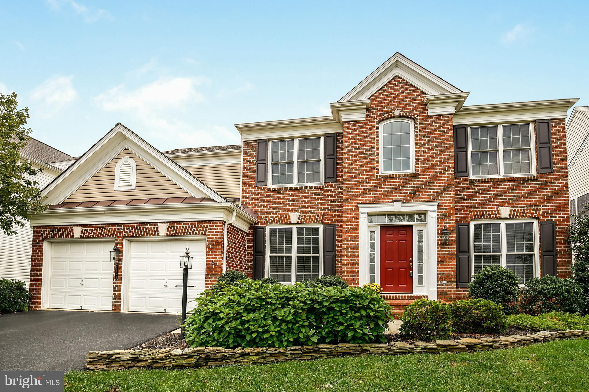 Gorgeous brick front colonial in Laurel Hill! The formal LR & DR on the main FLR leads to the open KIT & BFAST area. LR just off the KIT FEATs a lovely FPLC & sliding doors that leads to the BKYD. Upstairs are 3 BDs & a large MBA complete w/ 2 walk-in closet & an ensuite BA w/ a standing shower & soaking tub. Highlights include a 2 car GAR, HDWD FLRs throughout, & close to shops &restaurants.
