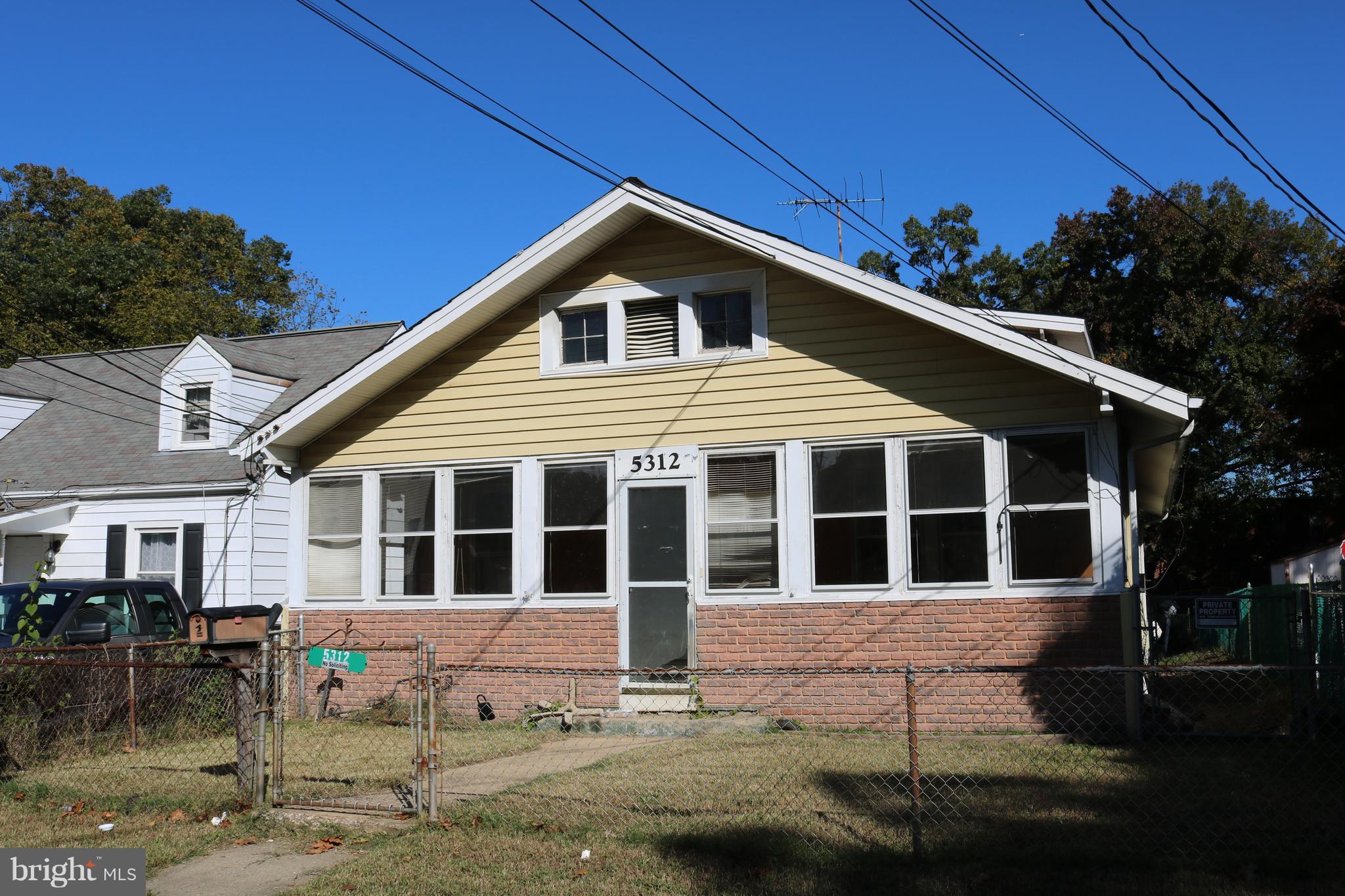 5312 GALLATIN STREET, HYATTSVILLE, MD 20781