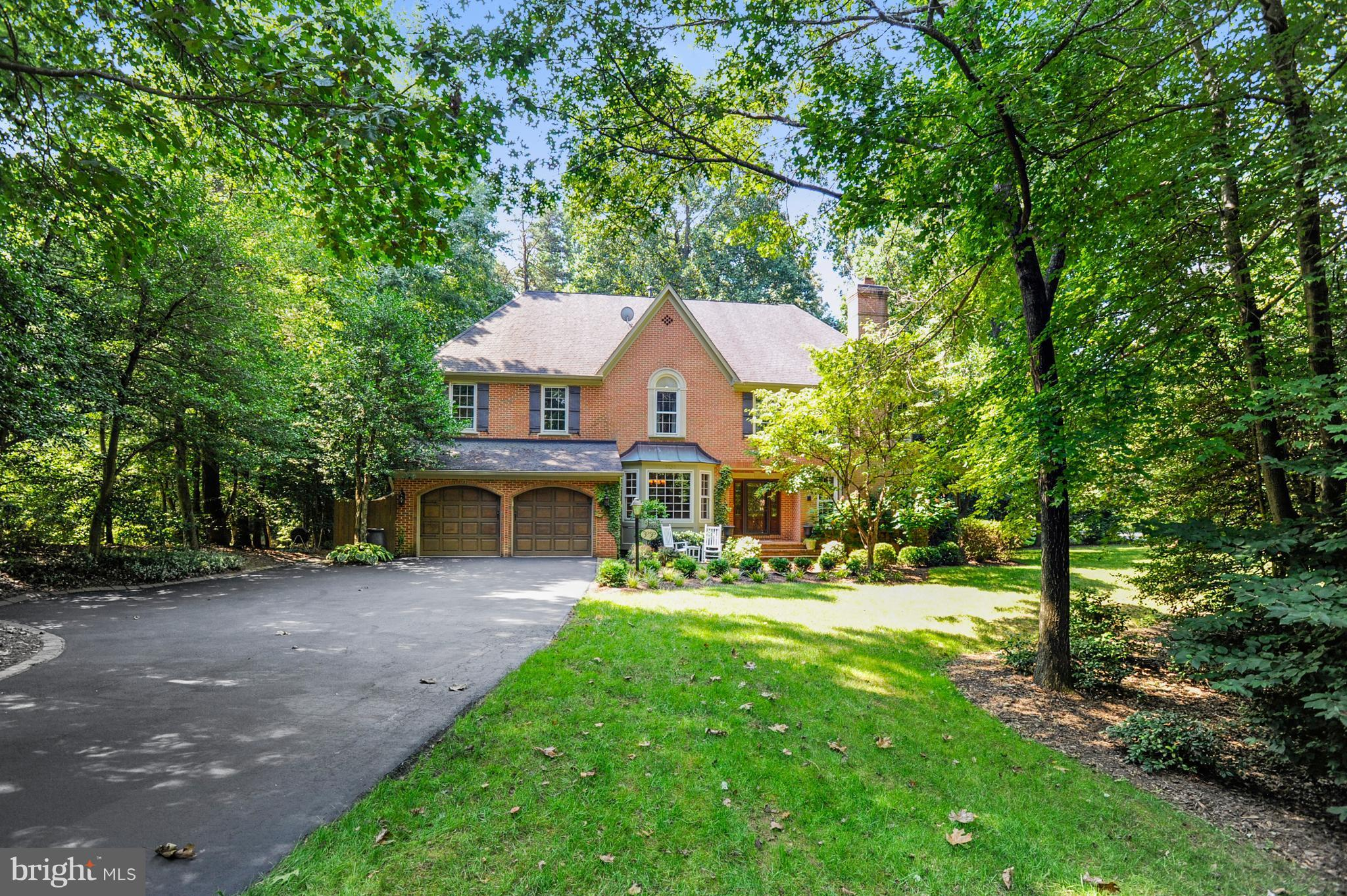 Elegant & spacious Wexford built home (over 5000 finished sq ft) on private wooded lot * Huge eat in gourmet kitchen w/ SS appliances, 2 sinks, 2 dishwashers, walk in pantry * 2-story family rm w/ stone fireplace, private office, & sunroom. UL- Master suite  dressing room, 2 walk in closets, & renovated bath * 3 additional large bdrms & 2 adtnl baths * LL walk out, rec room, work shop & full bath.