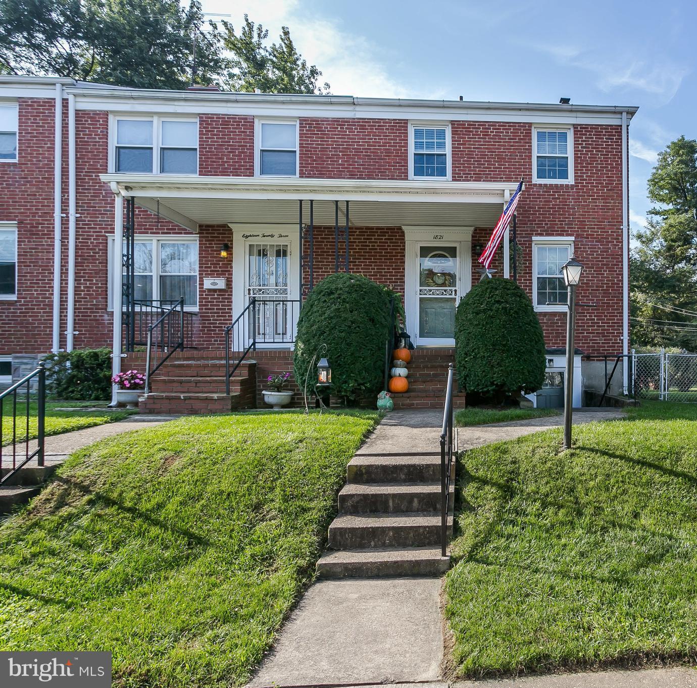 1821 Darrich Drive   - Baltimore, Maryland 21234