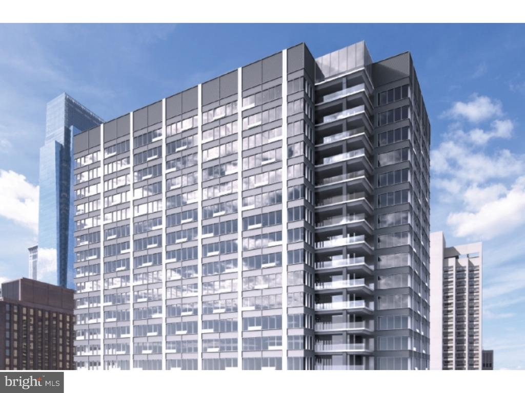 FRANKLIN TOWER !!!!!!! Center City's NEWEST LUXURY all glass tower residence, is a must see to believe. This new APARTMENT building community boasts, GARAGE parking, and one of the following on every floor: gyms, community rooms, business centers, SCREENING ROOMS, PET SPA, and spin rooms. The ROOF DECK is the LARGEST in PHILADELPHIA with a FIRE PIT, flat screen TV's, lounge chairs, and what about those 360 degree AMAZING views!!!!!!!!! This fantastic CORNER 2 bedroom 2 bath, SUN SPLASHED residence with PRIVATE balcony, has views that are off the charts. See the PARKWAY, Liberty PLACE, and all of THE CENTER CITY from your living and dining room!!!. OPEN KITCHEN with breakfast bar and all custom cabinets. Each bedroom is super sized with FANTASTIC closets. All bathrooms have Porcelanosa tiles and fixtures. With over 1100+ of living space you will never want to leave home!!!! There's EVERY REASON in the WORLD to lease this SPECTACULAR apartment at FRANKLIN TOWER. Incentives For a limited time: 4 weeks free on a 13 month lease, waived application fee, waived amenity fee and $500 deposit.  GOT STUFF? Your own designated storage space for 1 year. Limited time only! Photo's are of model unit.