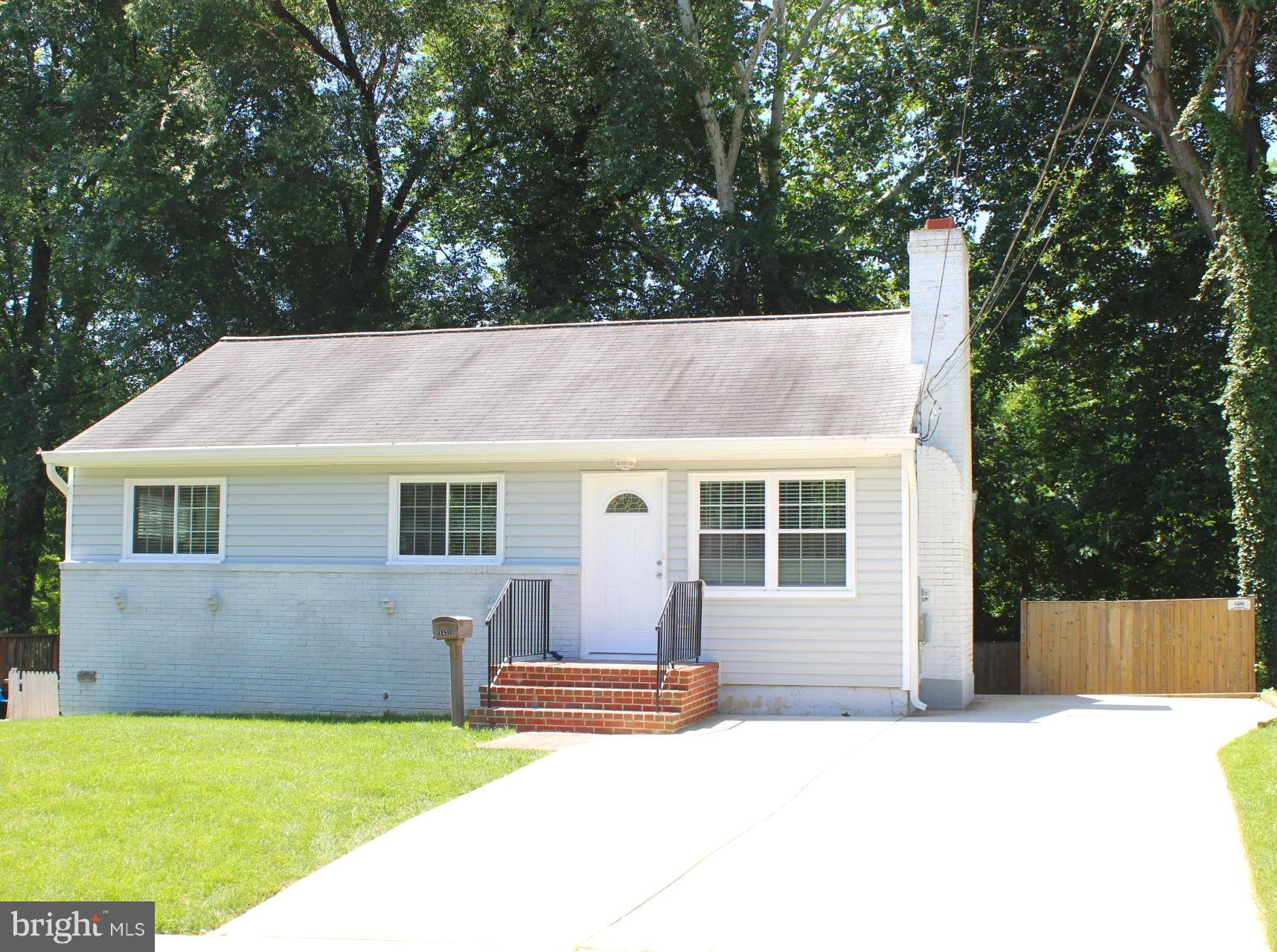 Cozy, light filled and renovated throughout! Pride of ownership shows in every area of this home! Recessed lights, check! Granite counter tops, check! Four legal bedrooms, Check! After that add a large deck, large rear yard, hanging flat screen prewires, covered secure storage, large driveway and a second legal kitchen on the lower level!! Close to I-95, VRE and Commuter Lots as well!