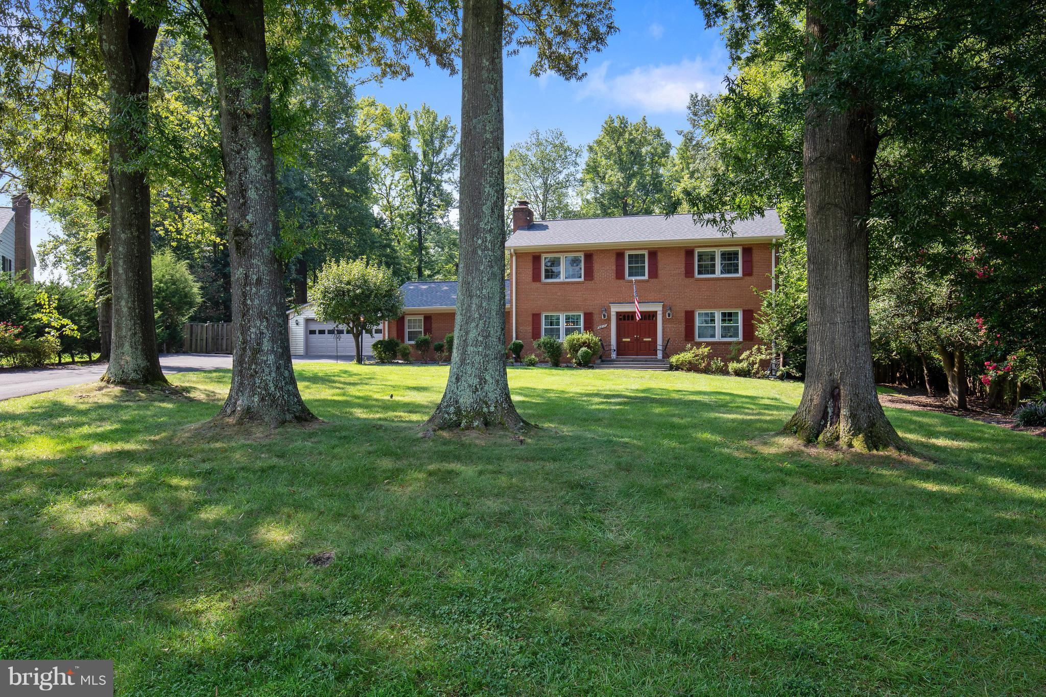 Major price reduction! Exceptionally unique and spacious  Colonial on private .72 acre lot. Special features include: updated kitchen, updated baths, family room with gas fireplace opens to patio overlooking serene pool scene, detached two car garage, extra parking area for RV/ Boat. Short walk to Mount Vernon Yacht Club and riverfront area! So much house and property for the money!