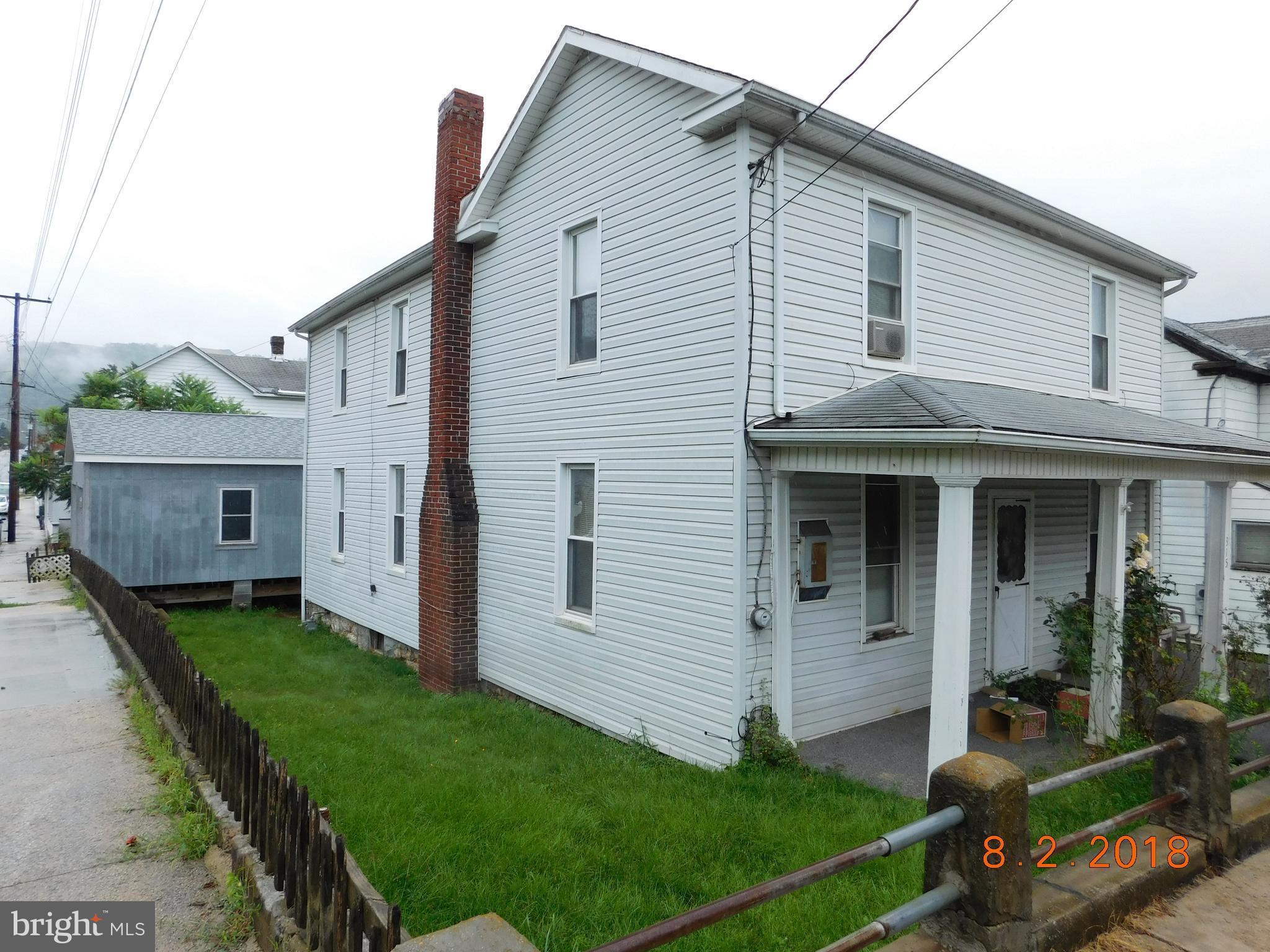 315 JOHNSON STREET, WESTERNPORT, MD 21562