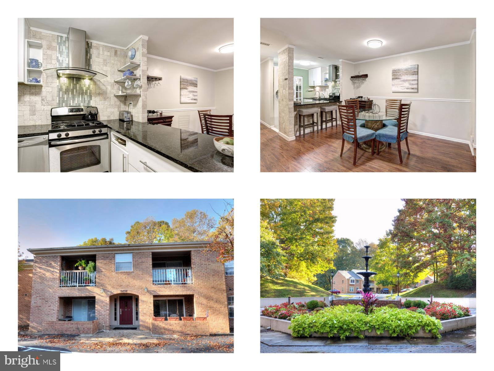 Cozy 3b 2ba corner unit in sought after Robinson District! Best Cove Landing Kitchen you will find w/ SS appliances, designer back splash tile & spacious pantry. Enjoy your morning coffee on the balcony with a view of the neighborhood fountain. Washer dryer in unit, and large storage unit on lower level! Plenty of parking incl reserved spot.  Mins to Lake Barton, Burke Lake, Fairfax Co Pkwy & VRE!