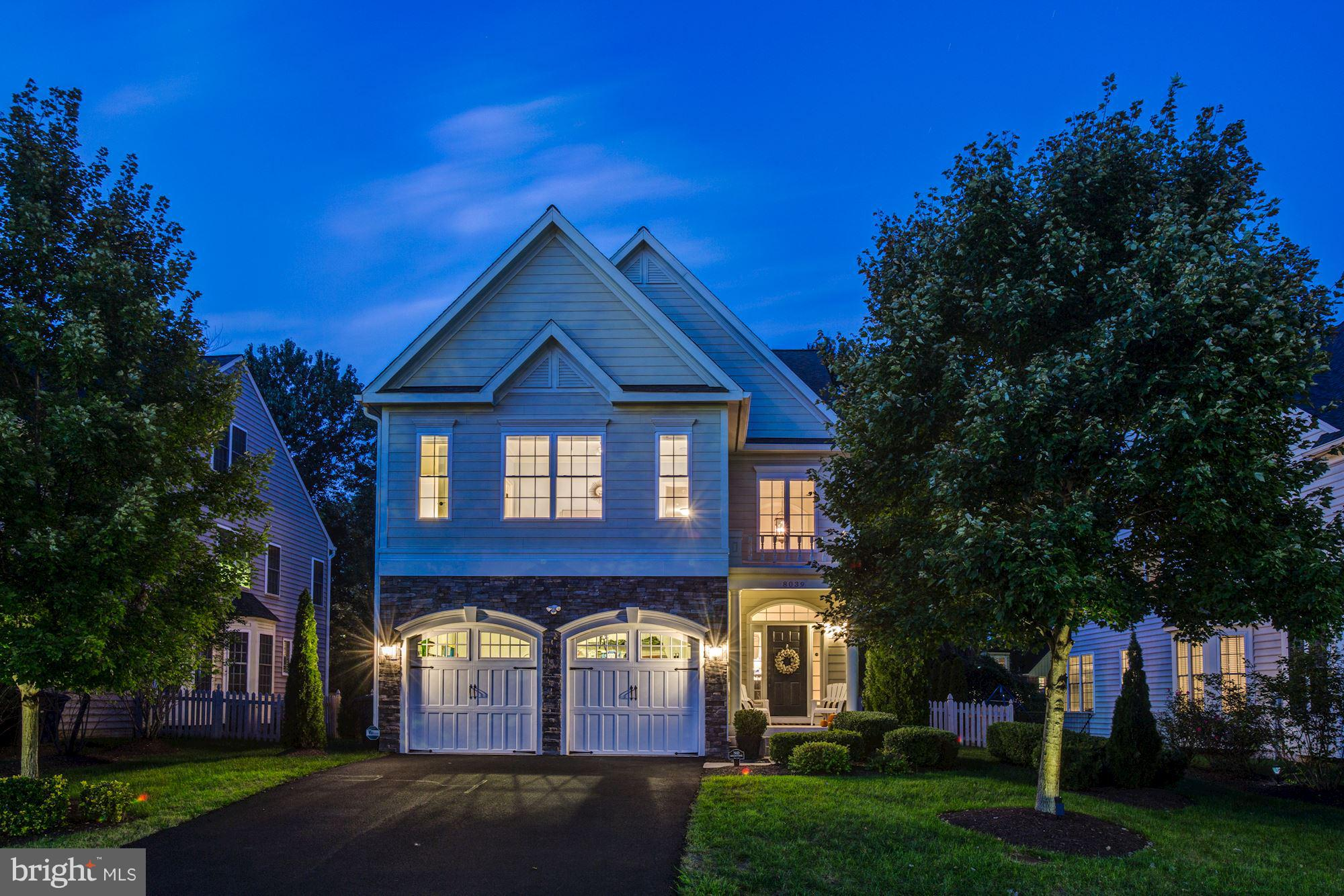 Stunning Craftsman on sought-after street in Ft Hunt, minutes to historic Old Town. Light-filled 5 BD/5.5 BA w/4,200 sqft, open floorplan,10+ ft ceilings, hdwd floors & finished basement. Built in 2009 & like-new w/sprinkler system, generator, moldings, window treatments, premium lighting, mature landscaping & freshly painted.Walk a block to Mt Vernon Pool/Shops.Top rated Waynewood school district