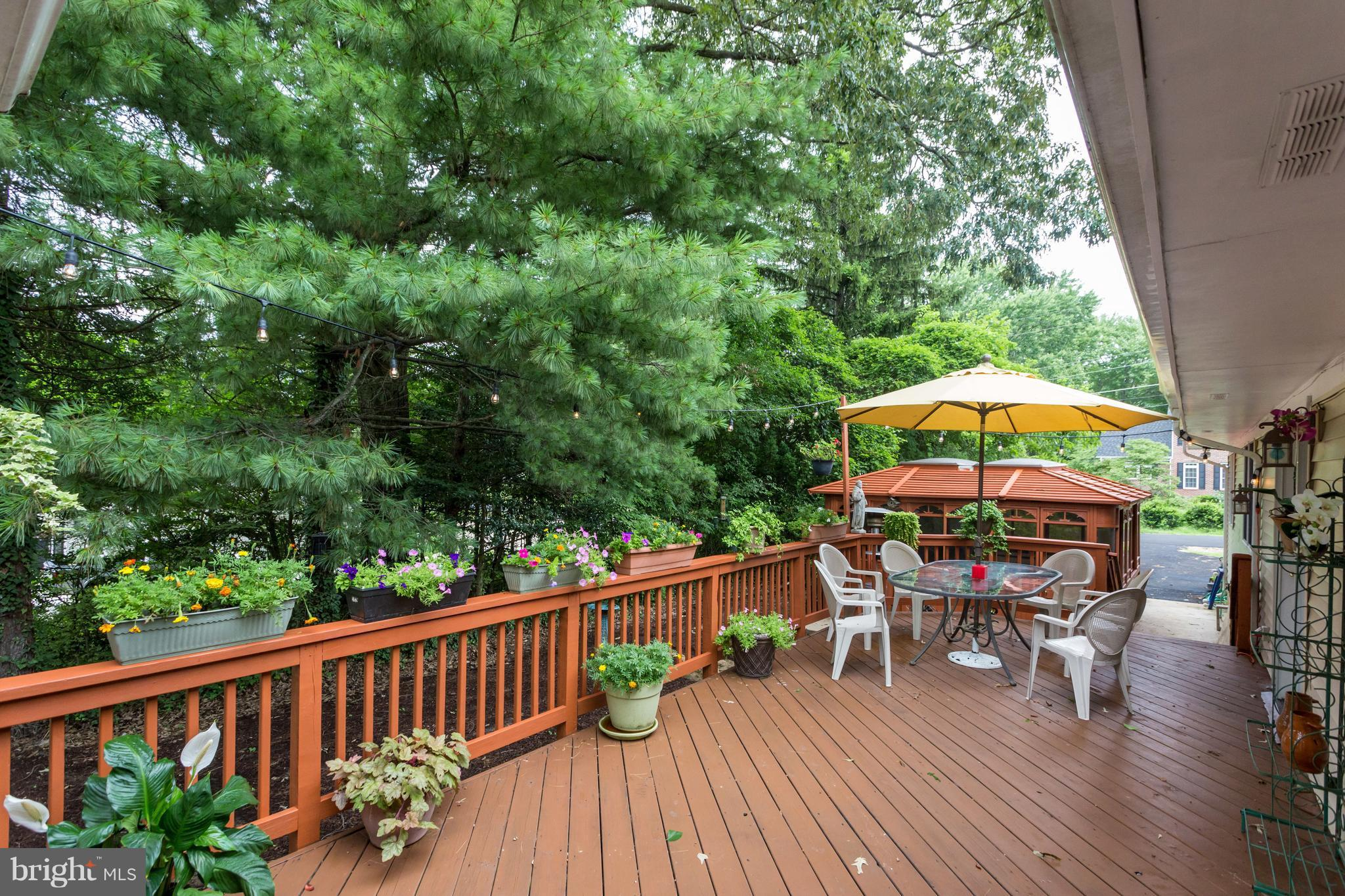 Price Improvement! Country living close in neighborhood! 4000 sq. ft. Huge kitchen center island w/2 commercial warming drawers Thermador 6 burner+grill stove 2 sinks & wall of cabinets. Great room w/sun room. Bring your longest table for the dining room. Gazebo w/ hot tub off deck. Rec room w/bar.Storage. New Baths Big MBR w/walk-in closet. All in a great location near 95 & TJ High. Bring Offers!
