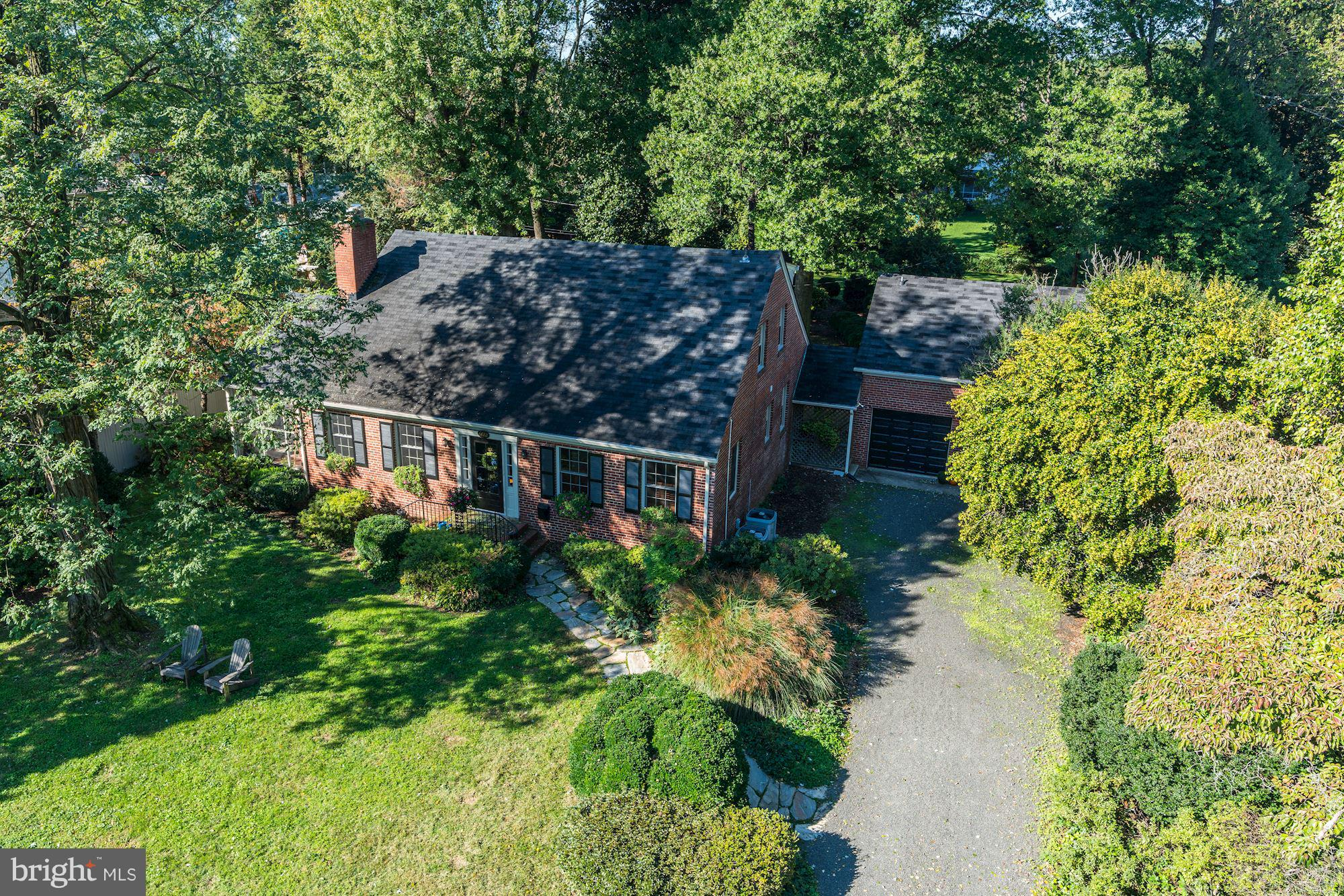 Open House Cancelled for 1/13/19.  Welcome to 6422 Boulevard View in beautiful New Alexandria!Gorgeous all brick Cape Cod inspired Colonial wows with truly stunning curb appeal.  This most inviting residence showcases an expansive; beautifully and thoughtfully landscaped yard perfectly sited on over ~ acre of level land.   Warmth and historic charm mingle with fine finishes and many handsome updates for an elegant and easy lifestyle.The main living level features a center hall, with a family room to the right and a formal yet cozy living room with custom built-ins to the left.  Gleaming, random-width hardwoods lead you to an exquisitely remodeled eat-in kitchen with custom cabinetry, a large island and high-end appliances.  This level boasts custom millwork, a main level master bedroom and an attractively updated full bath and access to the backyard and deck.  A lovely screened-in porch, a wood burning fireplace with custom mantle accent the perfect flow and the open floor plan make this home an entertainer~s paradise.The bedroom level boasts hardwoods, three huge bedrooms and a large sparkling white hall bath.  Recent renovations on this level include a custom walk-in master bedroom closet and fresh designer paint.Above the two-car, all brick, detached garage there are recently updated guest quarters with a full bath and a kitchen, perfect for a home office, overnight guests, au pair suite or in-law suite.This close-in location is literally steps from the George Washington Parkway Bike Path, Dyke~s Marsh and Belle Haven Marina, the 11Y commuter bus to Old Town and DC and the Belle View Shopping Center.  Walk to restaurants, stores and enjoy a short bike ride or walk to Old Town Alexandria.  Easy access to the Beltway, Pentagon, Fort Belvoir and all commuting routes.  Simply perfect!  Welcome home!