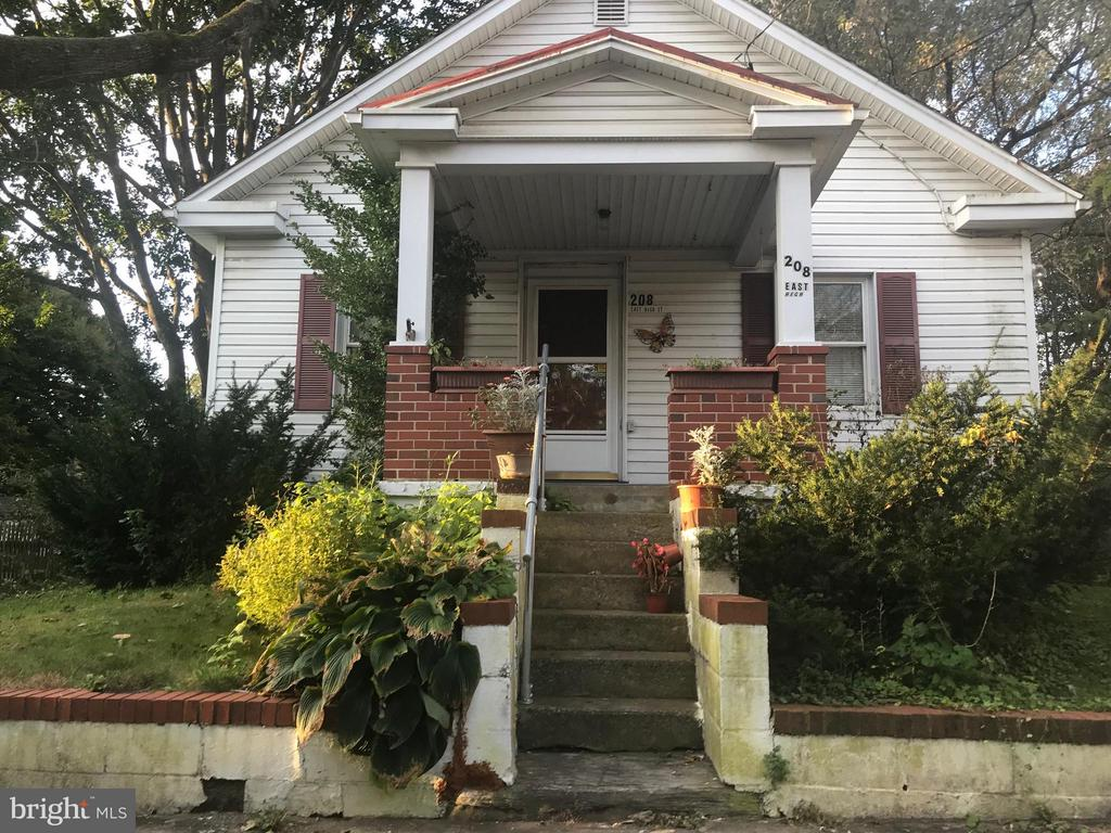 Very nice large backyard with screened porch. Finished attic room and basement room. Efficiency kitchen with table room. Two bedrooms and two baths. Rare opportunity for this property that you can live-in while you update or add-on!