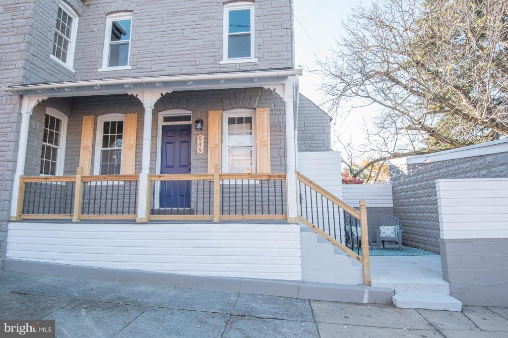 Beautifully redone home for easy updated living! Open first floor with hardwood floors throughout. High ceilings, recessed lighting and end unit extra windows gives an airy feel to the space. Open walk in pantry, gorgeous new kitchen cabinets and new stainless appliances. Half bath off of kitchen area. Second floor master bedroom with master bath attached. Shiplap, tile, granite and hardwoods can be found in this beauty. Numerous updated mechanicals. Ample street parking. Off street parking can be purchased in addition, see MLS #PALA114622 for the 4 garage spaces adjacent at 130 N Marshall St.