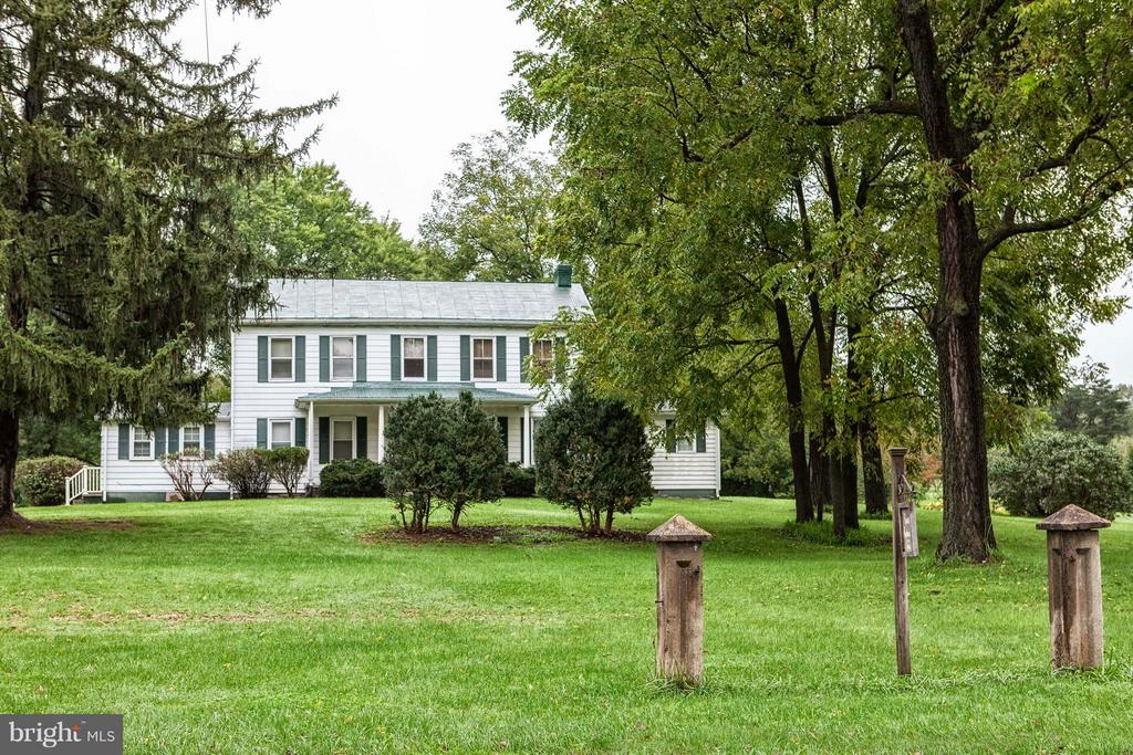 Rural Retreat - A  charming farmhouse, family owned and occupied since 1852. The original house, built in the 1850's, burned in 1886, was rebuilt in 1888.  Picturesque property which has potential to subdivide into 3 parcels.  County  has approved subdividing 2,2acre lots across the rear of the property.   Excellent location!  Close to Rt 9 bypass and Charles Town.  Seller is offering to pay first 3 months mortgage, up to $5000.  Seller can also offer owner financing for a period of time.  Call me to work out the details!