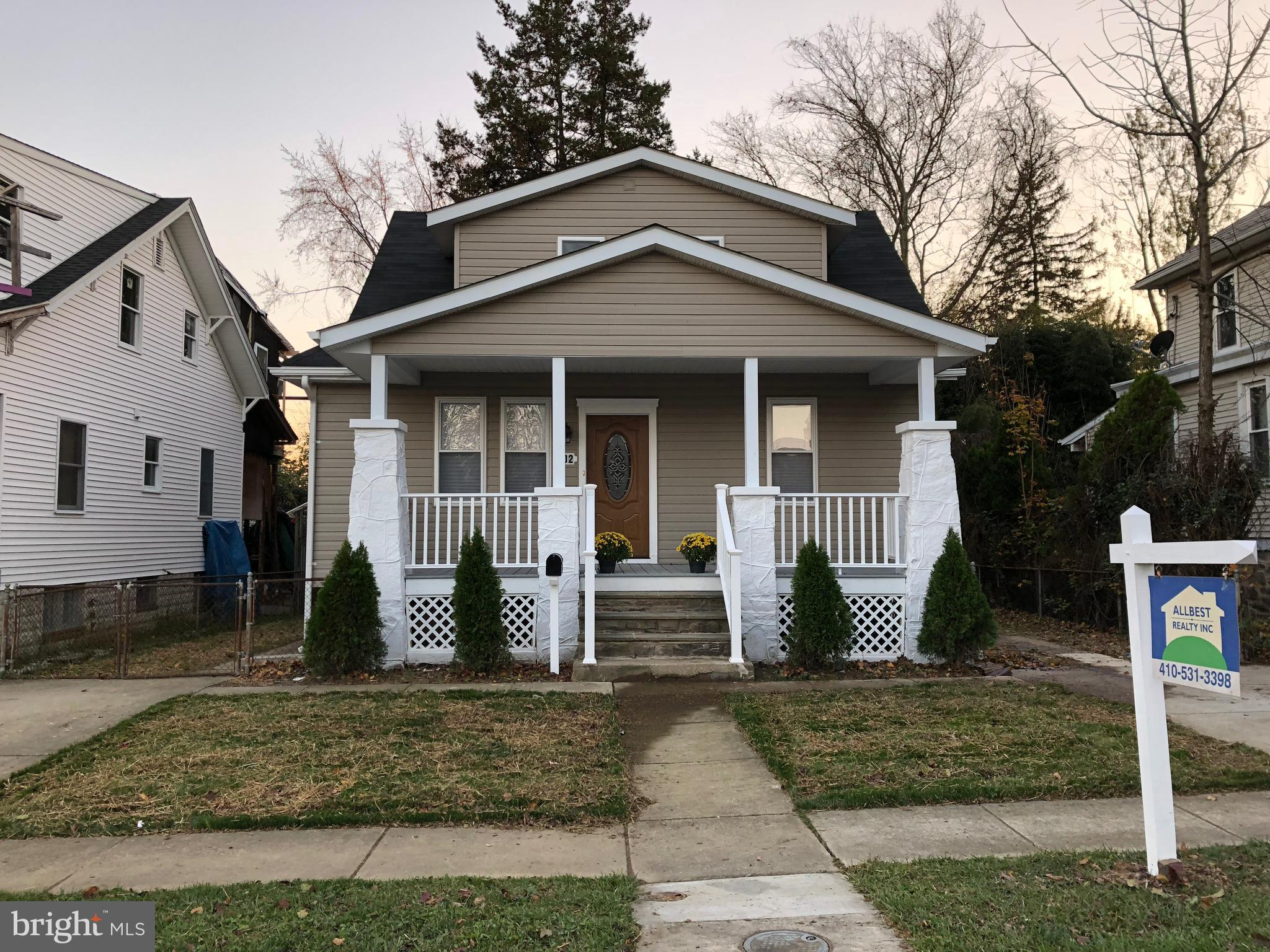 602 ORPINGTON ROAD, BALTIMORE, MD 21229