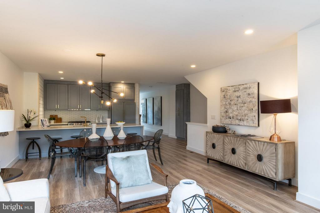 OPEN SUNDAY 1-3p,m .  This Luxury condominium features contemporary finishes including custom cabinets, appliances and private PARKING. This home boasts of 2-levels, 3 bedroom and 3 bathrooms a with large master suite with generous closet space. This striking residence is conveniently located just blocks to shopping, dining, metro at Columbia Heights & U Street.--