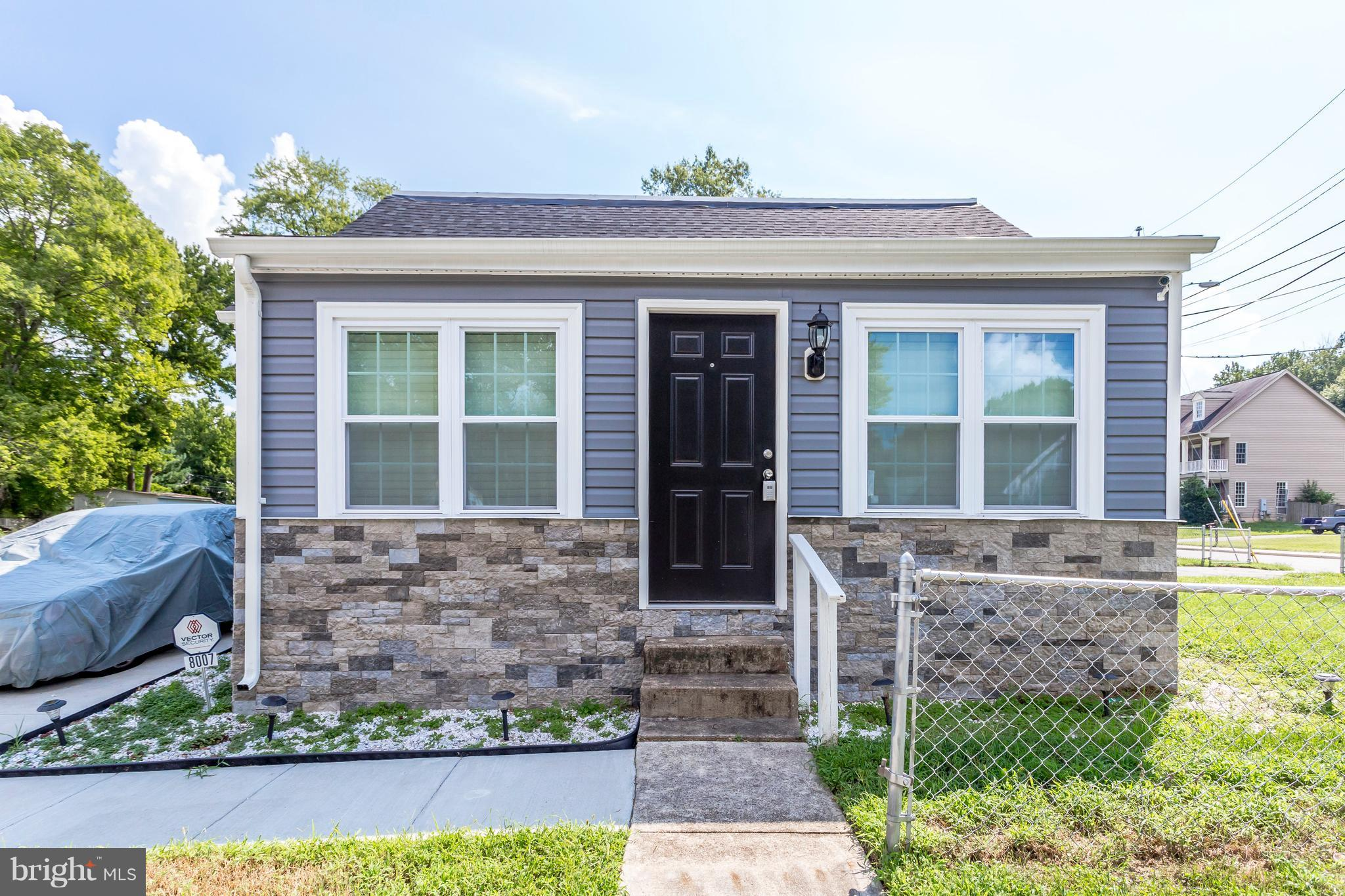This stunning renovated 2 level colonial is nestled in historic Gum Springs. This home is a 3 bed 3 bath Master piece. Tons of Natural light illuminates throughout this home. Huge addition is where you will find your Grand Master Bed w/ en suite bathroom. Whole 2nd level is where the Rec/Family room is located.