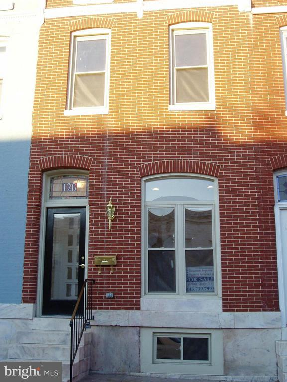 Beautiful rehabbed rental in Patterson Park!  Close to Hopkins and one block from the Park.  Upscale amenities for reasonable price.  Rent to own considered/preferred.