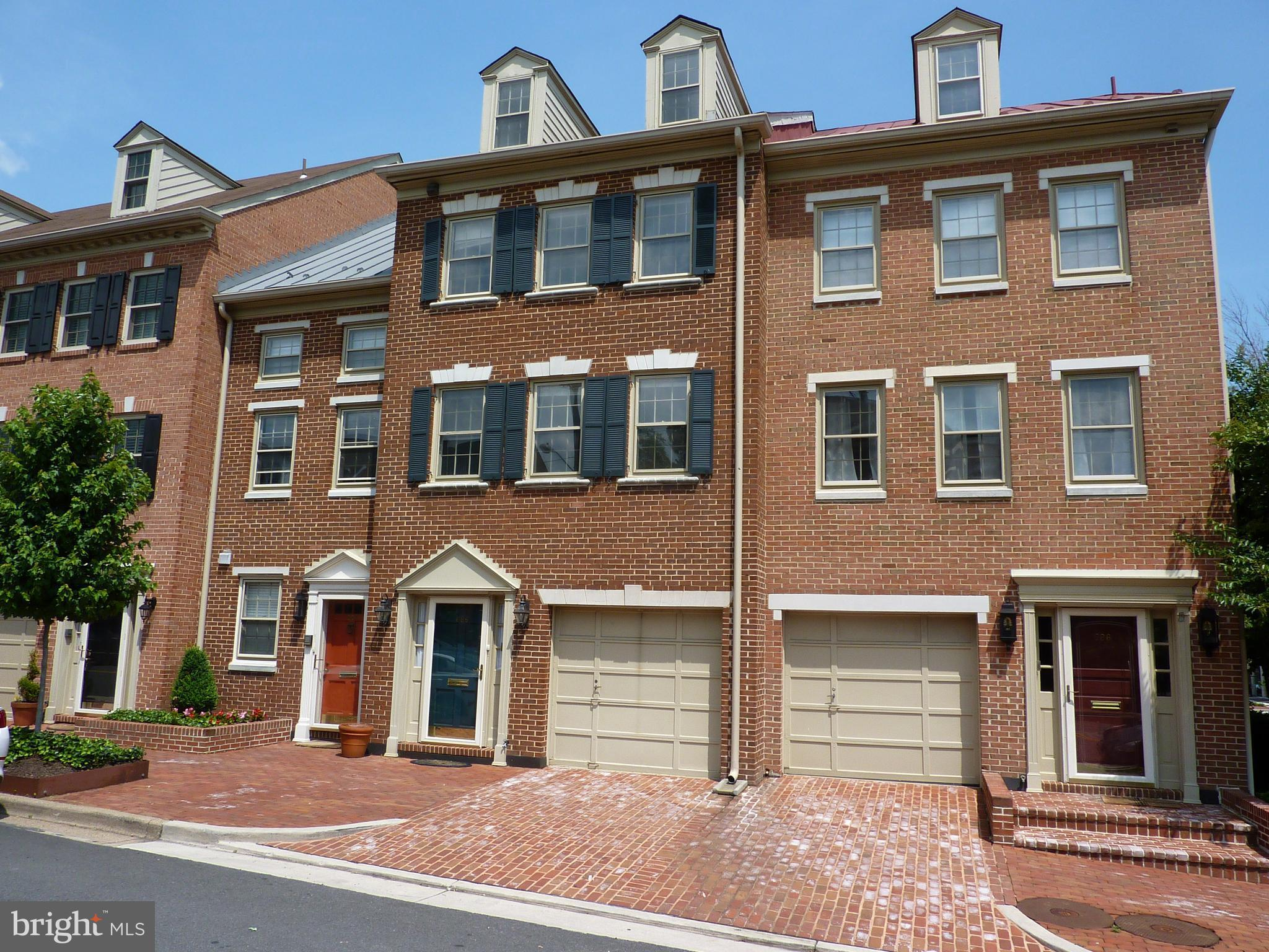 Still Accepting Offers - Current contract contingent upon buyer home sale. HUGE PRICE REDUCTION! OPEN SATURDAY AND SUNDAY 2 to 4 PM. Beautiful Townhome in the most desirable part of Old Town! Hardwood floors throughout,  Crown Molding, granite counters, and 2 GARAGE parking spaces (1 under) just 1 block from great dining and shopping. 2 fireplaces, wet bar and walk-out to patio. 2 en-suite bedrooms, 3 full and 1 half baths total. Over 2000 sq ft of finished living space. Don't miss this opportunity in best part of Old Town!