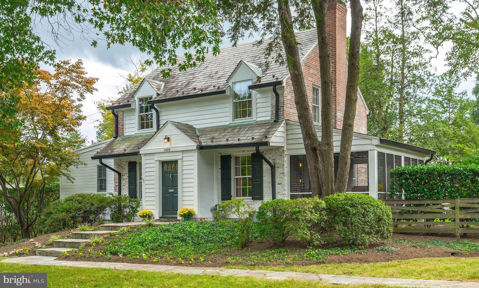 Storybook home on more than 1/3 acre in desirable College Park! Garage, slate roof, brick exterior, mature trees, landscaped w seasonal flowers.  Move-in ready w fresh paint, new appliances, new carpeting and flooring.  Cozy FP, HWF, & Versatile main level BR & BA can also serve as a family room.  LL w workshop, rec room, and lot of storage. Quick drive to DC, Old Town, Beltway.  Open 10/14 1-4:00