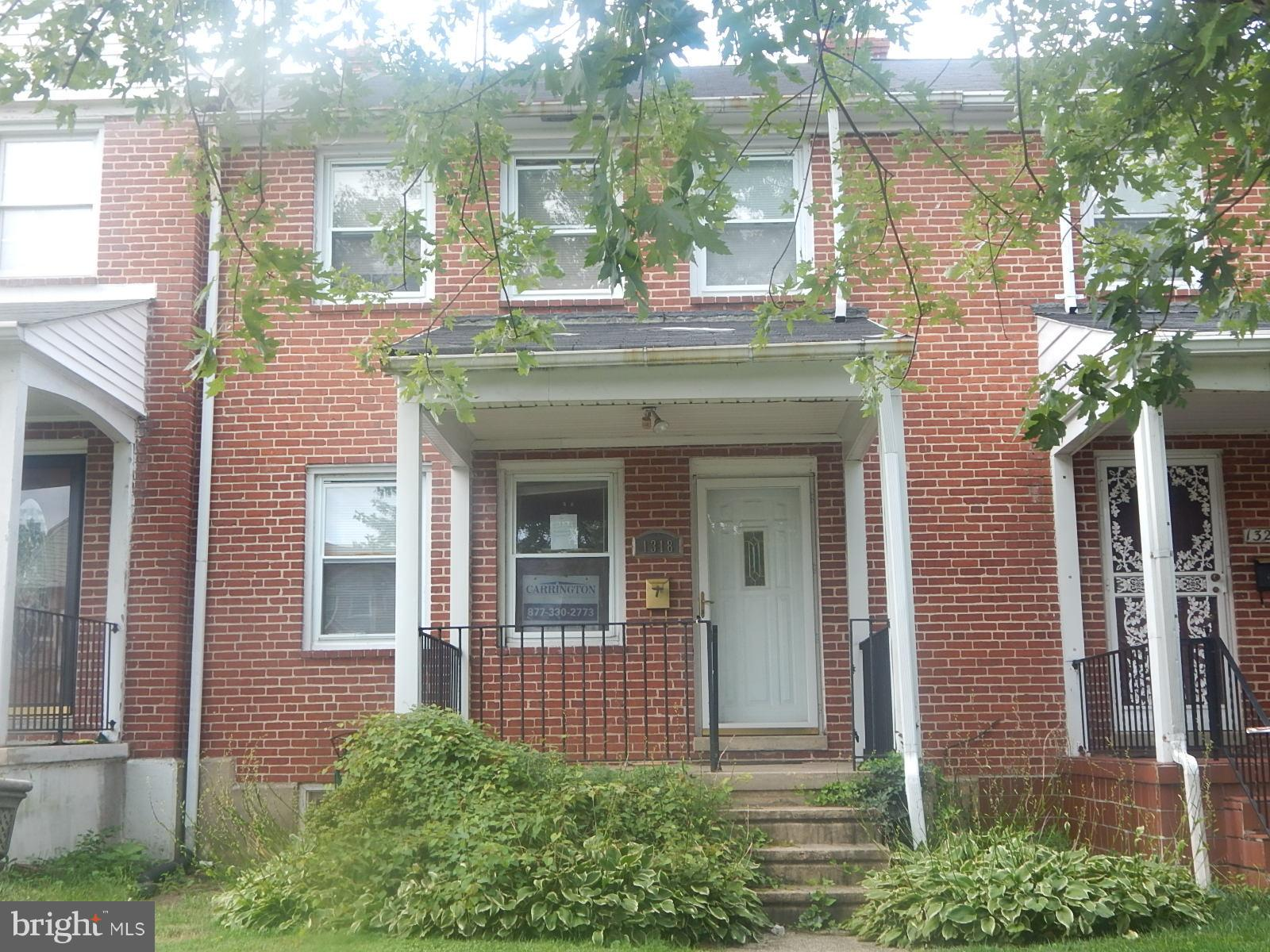 1318 STONEWOOD ROAD, BALTIMORE, MD 21239