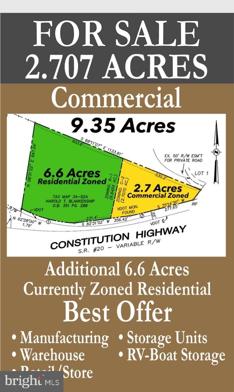 26243 CONSTITUTION HIGHWAY, UNIONVILLE, VA 22567