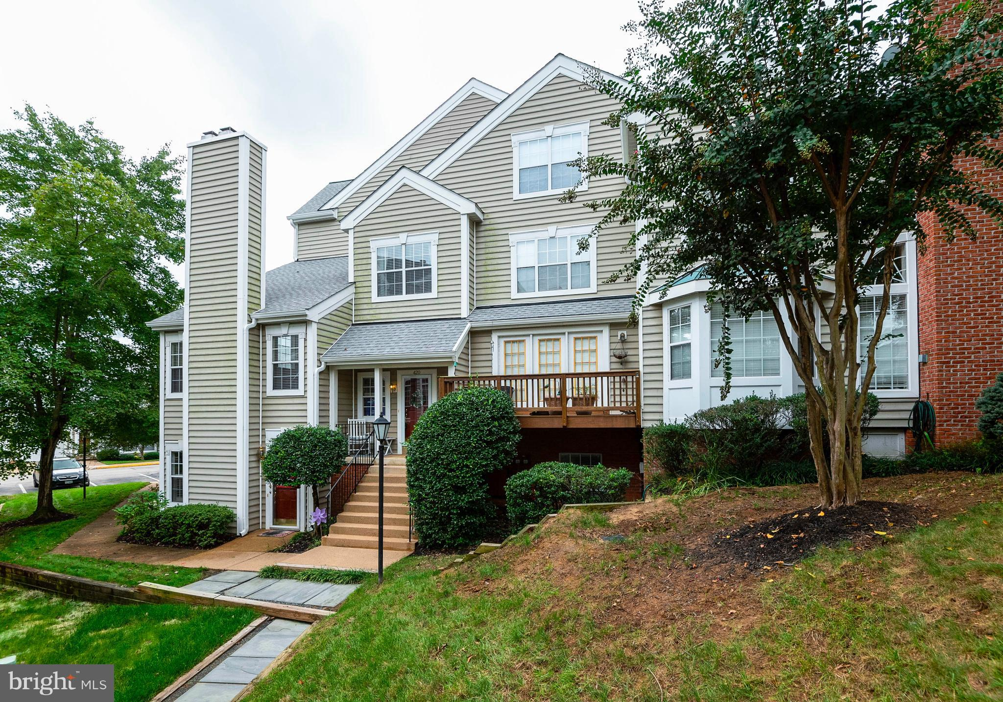 Located in scenic Historic Occoquan, this beautifully maintained 2 -level condo boasts gleaming hardwoods & bright, natural light through out. Brand new carpet on upper level. Each bedroom has it's own bathroom! Newly remodeled master bath. Newer hot water heater, AC, and furnace. This one surely will not disappoint.