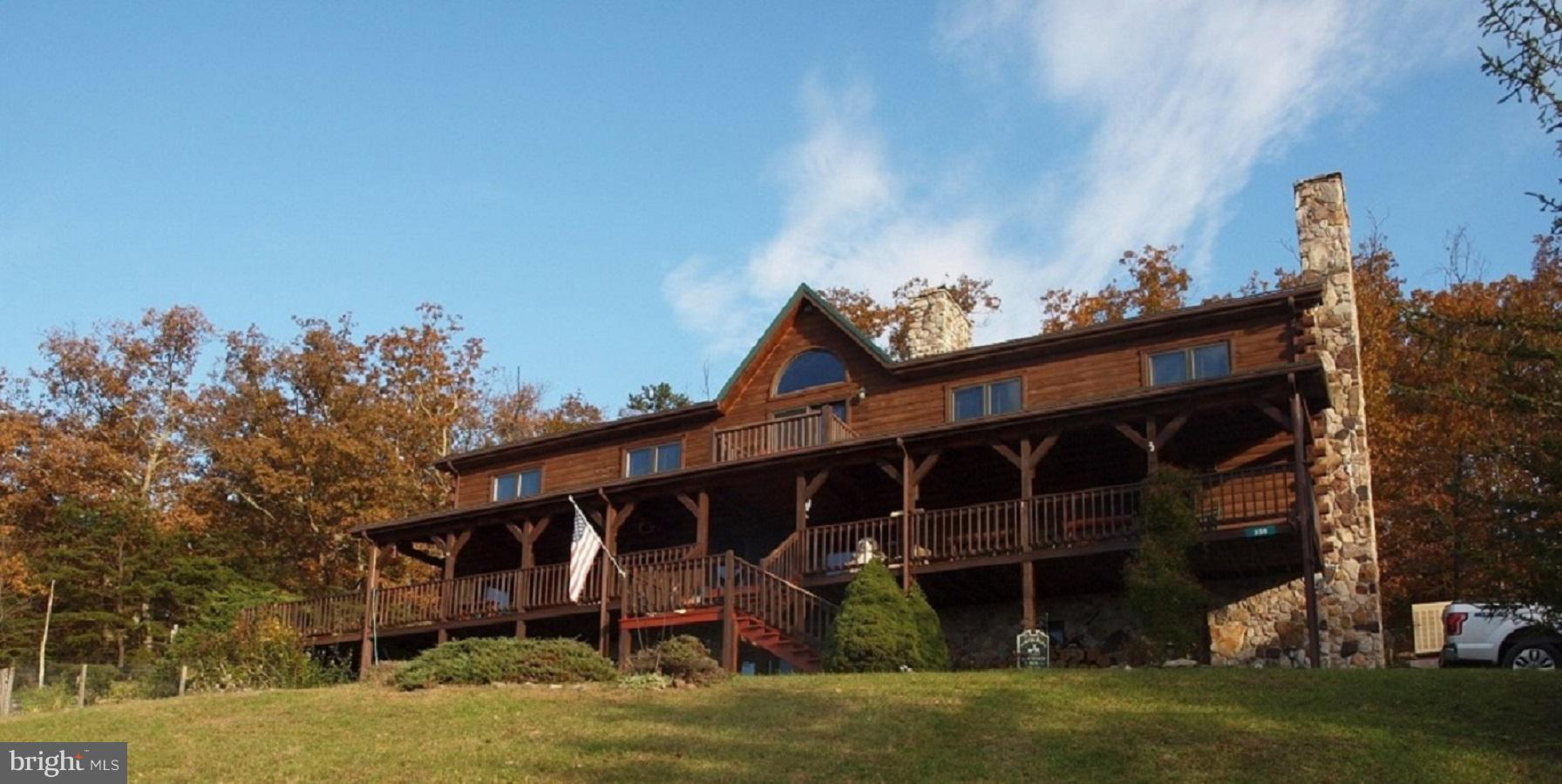 235 CANYON VIEW LANE, CABINS, WV 26855