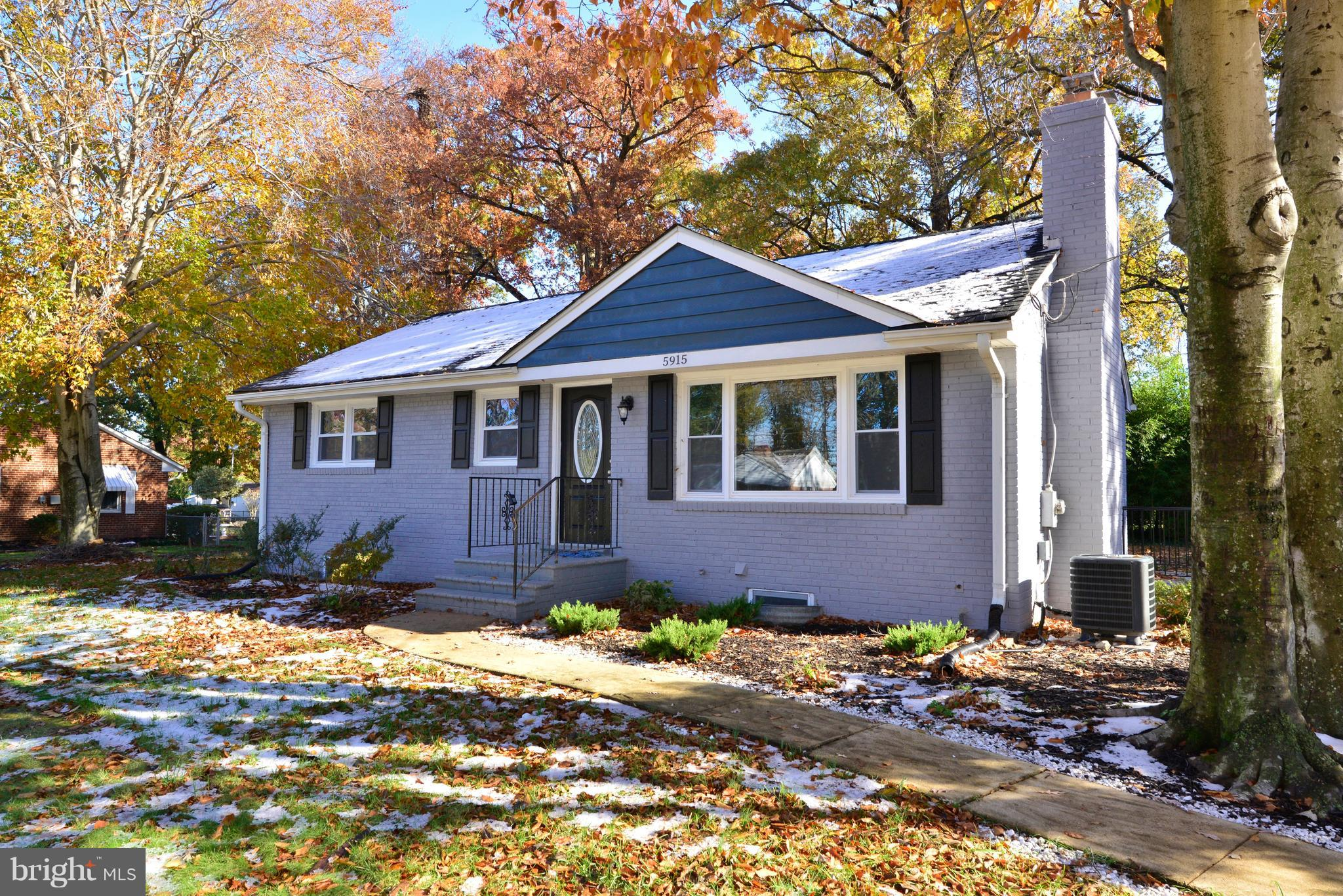 Awesome 2 Level Rambler w/ Tons of Renovations! New Kitchen w/ 42in Cabs, Backsplash, Granite, SS Applncs! New BA's w/ nice fixtures & tilework. New Roof, Windows, AC! Kit opens to dining/living w/ fireplace! Gorgeous 0.34 acre flat lot. Walk to Bush Hill Elem & Edison HS! So convenient to Ft Belvoir, Van Dorn Metro, Pentagon, future Amazon HQ2!