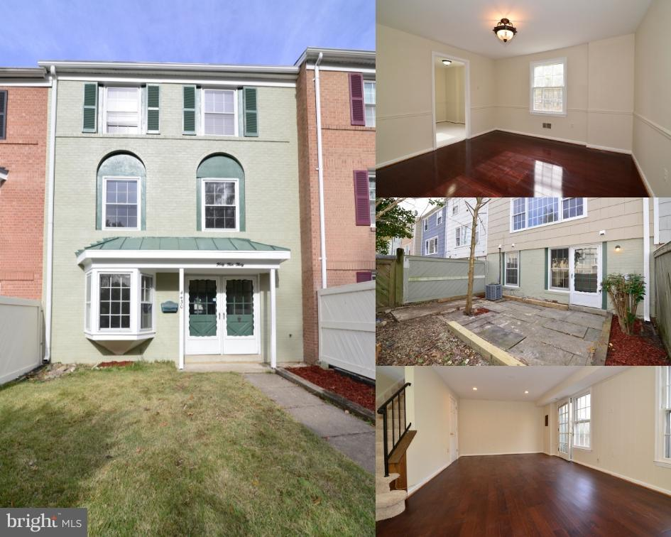 COMPLETELY REMODELED 3-LEVEL TOWNHOME IN BEAUTIFUL COMMUNITY IN ALEXANDRIA