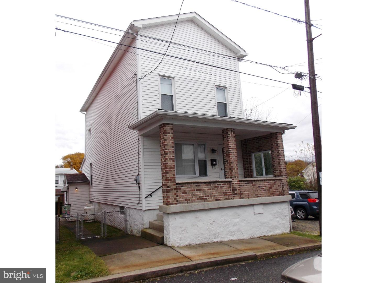343 W IRON STREET, SUMMIT HILL, PA 18250