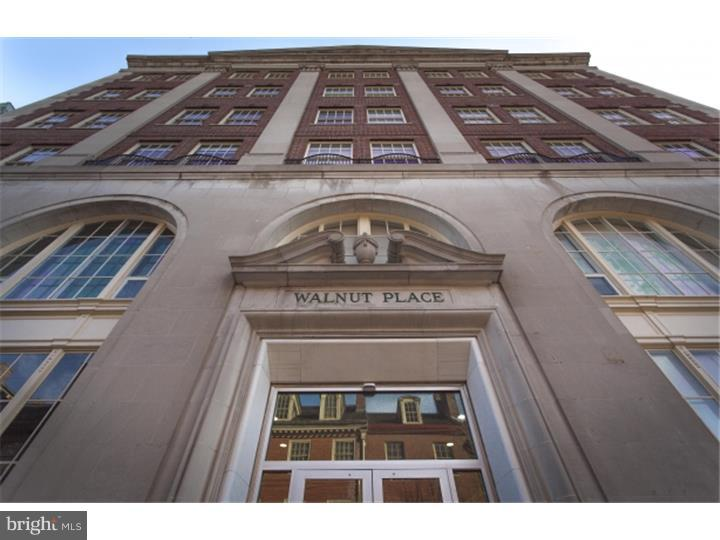 The HEART of SOCIETY HILL!! This SUN FILLED, 1 bedroom 1 1/2 BATH APARTMENT boasts, Beautiful HARDWOOD floors, fantastic ceiling height, all open kitchen with BREAKFAST BAR, all granite counter tops and stainless steel appliances. This elevator, DOORMAN building has a fantastic GYM and PARKING available for an additional fee. Walk to AMAZING restaurants, coffee shops, the Ritz Movie Theater, and OLD CITY, all with in 5 MINUTES!!