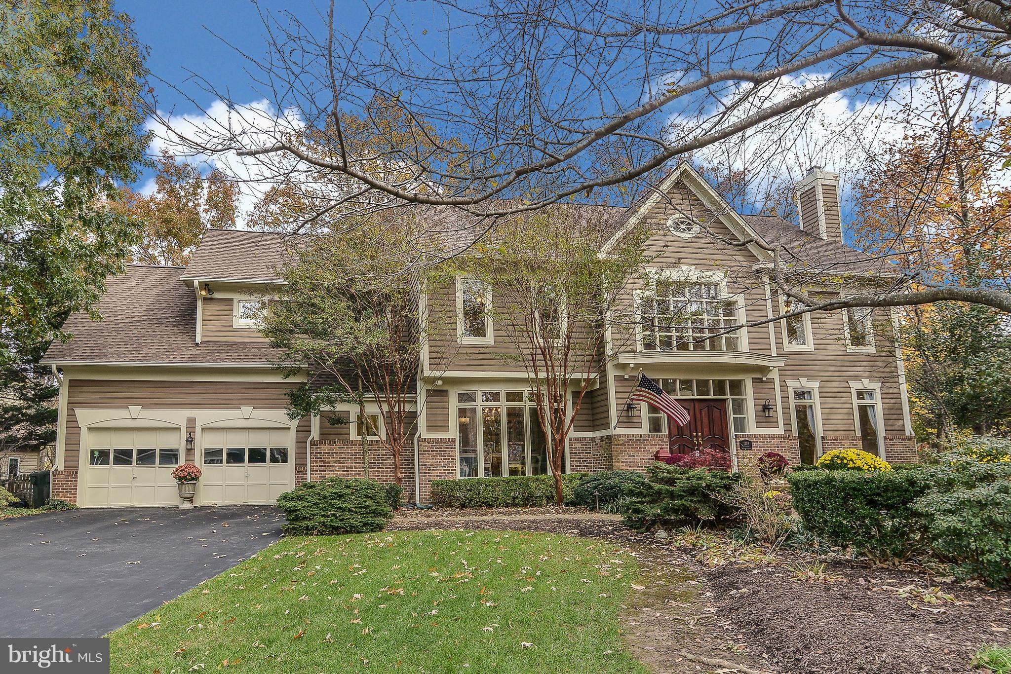 Open House CANCELLED 1/13/19!!Masterful design & modern luxury are uniquely embodied in this Gulick built home. Sited on a partially wooded 1/3 Acre lot, the Cambridge model features a brick & cedar siding front elevation. The slate walkway, with ambient lighting, leads to the double front door from the professionally manicured front lawn. The grand center staircase in two story foyer welcomes guests. Architectural archways border the formal living areas. Floor to ceiling windows with transoms, a wood burning fireplace, & crown molding grace the living room. Celebrate the holidays in the intimate dining room featuring a floor to ceiling bowed bay window & crown moldings. Beautiful hardwood floors & abundant natural light flow throughout the main level of the home. The recently-remodeled gourmet kitchen will inspire your inner chef with its Bosch stainless steel appliances, granite counters, glass mosaic backsplash & center island. The breakfast room flows into the magnificent family room boasting 20~+ ceilings, a dramatic gas fireplace with triangular mantel & second story overlook. French doors into the office & a powder room finish the main level. The gracious master suite, with cathedral ceilings & sitting room, are separated by a three-sided wood burning fireplace. Unwind in the new spa master bath. Highlights include heated travertine flooring, travertine & mosaic title, slipper shaped clawfoot tub, glass enclosed shower, double vanities with granite, & designer restoration hardware lighting & fixtures. Bedrooms 2 & 3 share a updated buddy bath featuring a double granite vanity & travertine title. Bedroom 4~s en-suite bath is completed with equally excellent finishes. The fully finished walkout basement has a recreation room with Wood fireplace, & a mini kitchen with granite, refrigerator, & wine cooler. The large bedroom & full bath make this level suitable for an in-law or au pair suite. A three-tiered wood deck, with outdoor stacked stone firepit, can be accessed from the breakfast or family room & overlooks the rear garden. Conveniently located to Reston Towne Center, Wiehle- Reston East Metro Station, Cameron Park with soccer/ baseball fields, basketball courts, Lake Fairfax with walking/ biking trails, athletic fields, skate park, waterpark & Hidden Creek Country Club.