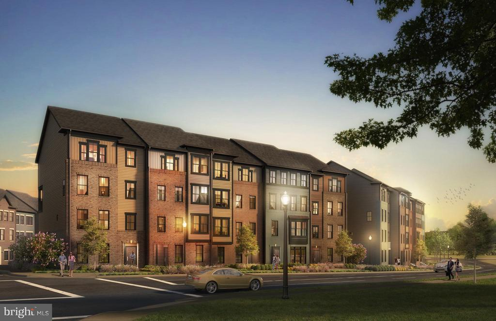 NV Homes' newest townhome style condominium community. Over 1600 SQ FT with 3 bedrooms 2.5 bathrooms. Open kitchen, breakfast bar, and great room with direct access to private 1 car garage. Owner's suite with dual walk-in closets. Through 6/30 receive $6500 in CC, with NVRM.