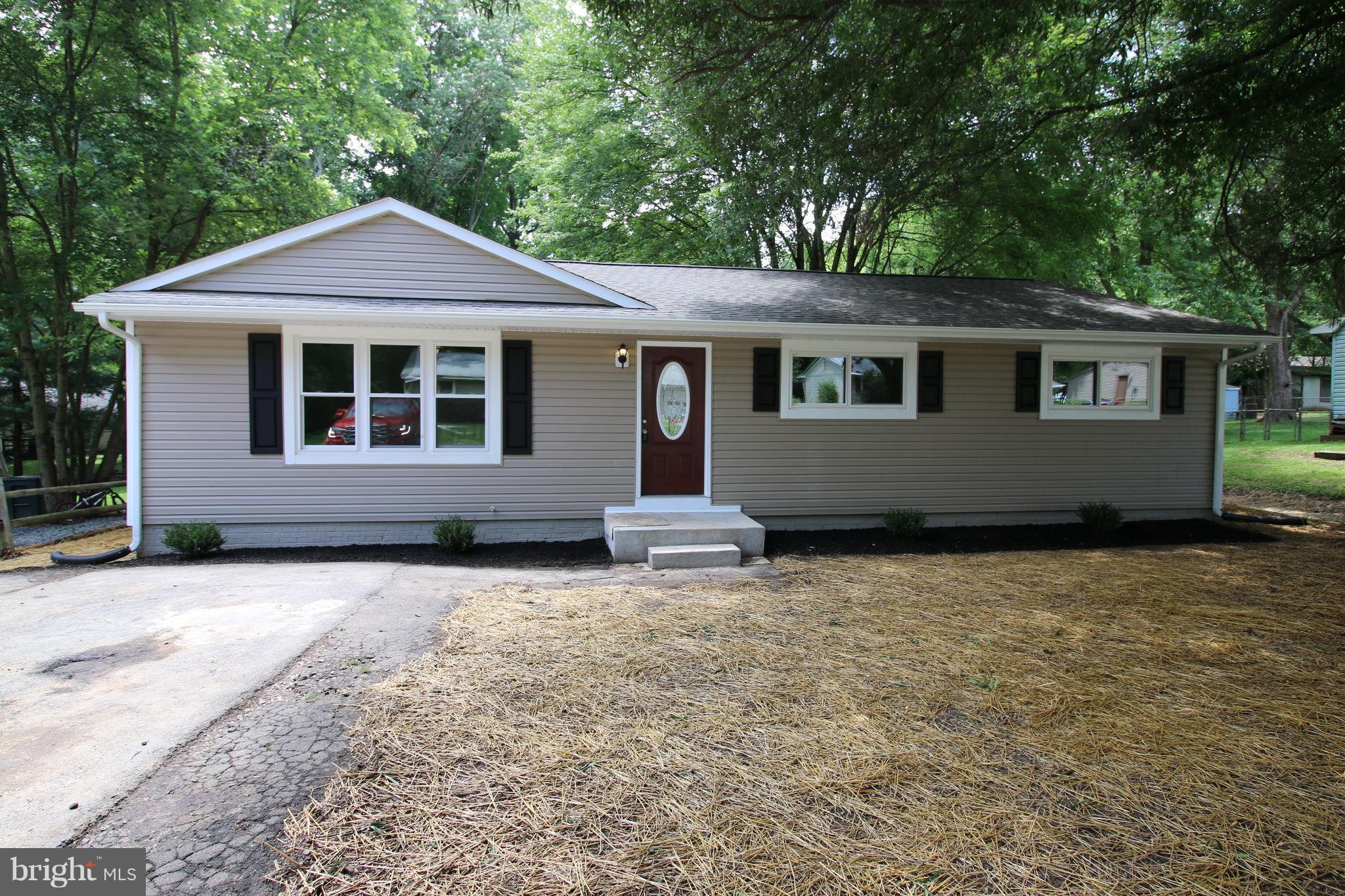 Fully renovated home! New roof, new siding, fresh paint, new flooring, cabinets, granite counters, stainless steel appliances, vanities, windows, and much more!  Own a remodeled home for less than rent!