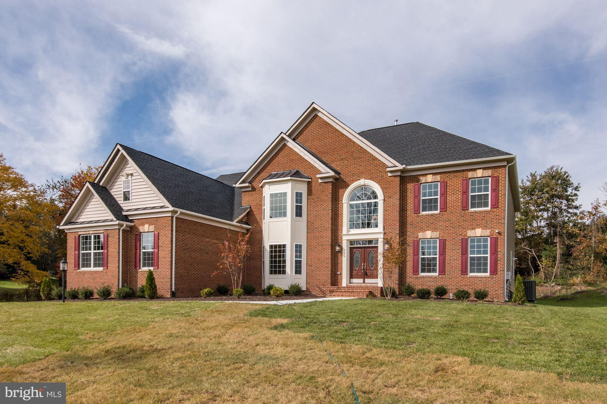 IMMEDIATE DELIVERY, NEW CONSTRUCTION: 5 BR, 4.5 BA: Brick Front, 3 Car Side Load Garage, Double Spiral Stairs, First Floor Bedroom w/Full Bath, Morning Room, Upgraded Kitchen Cabinets in Butler's Pantry, Farm Sink w/Upgraded Kitchen Counters, Snow Polish Marble in Foyer, Breakfast and Kitchen, Upgraded Electronics/Security Package, Wet Bar RI & Basement Bath RI, and SO MUCH MORE!