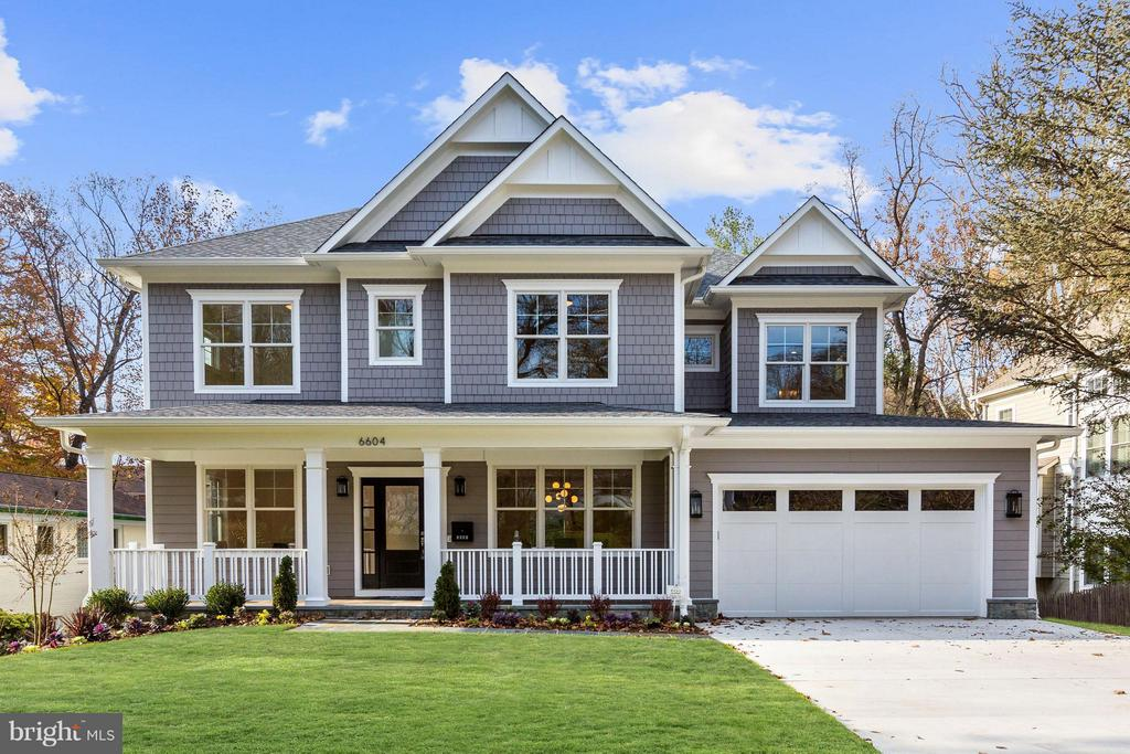 NEW PRICE! Gorgeous NEW build w/ stunning finishes & privacy. Open floor plan with formal dining rm, butler's pantry, custom mudroom & GREAT room w/ gorgeous gas FP.  Gourmet KIT w/ perfect breakfast nook. Spacious UL w/ 4BR/4BA. Master suite includes his/her WIC & spa-like BA. Walk-out LL w/ 5th BR, REC rm & exercise rm. Exterior extends the home w/ a screened-in porch, rear deck, level yard & front porch!