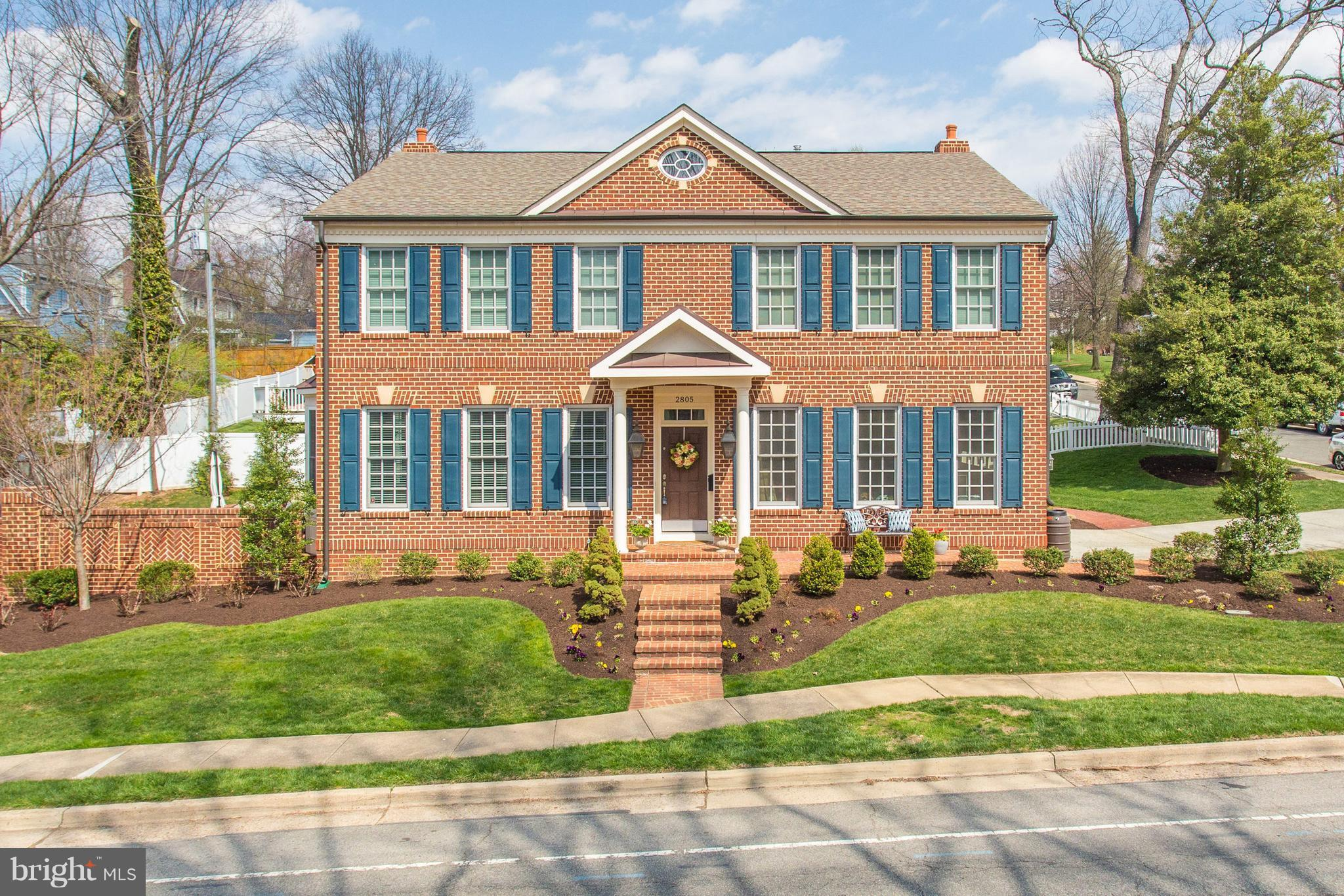 2012 all-brick Colonial w/ over $315K in upgrades. Like new! Open main lvl w/ 9-10' ceilings, chef's kitchen w/ granite, Wolf & Sub-Zero appliances, breakfast & family rm w/ gas fp. 2 w-i closets, tray ceiling & spa-like bath in MBR, hallway built-ins, walkout LL w/ wine cellar, rec rm, guest suite & storage. Lg & fully fenced private yard w/ outdoor fireplace & patio. MOTIVATED SELLER