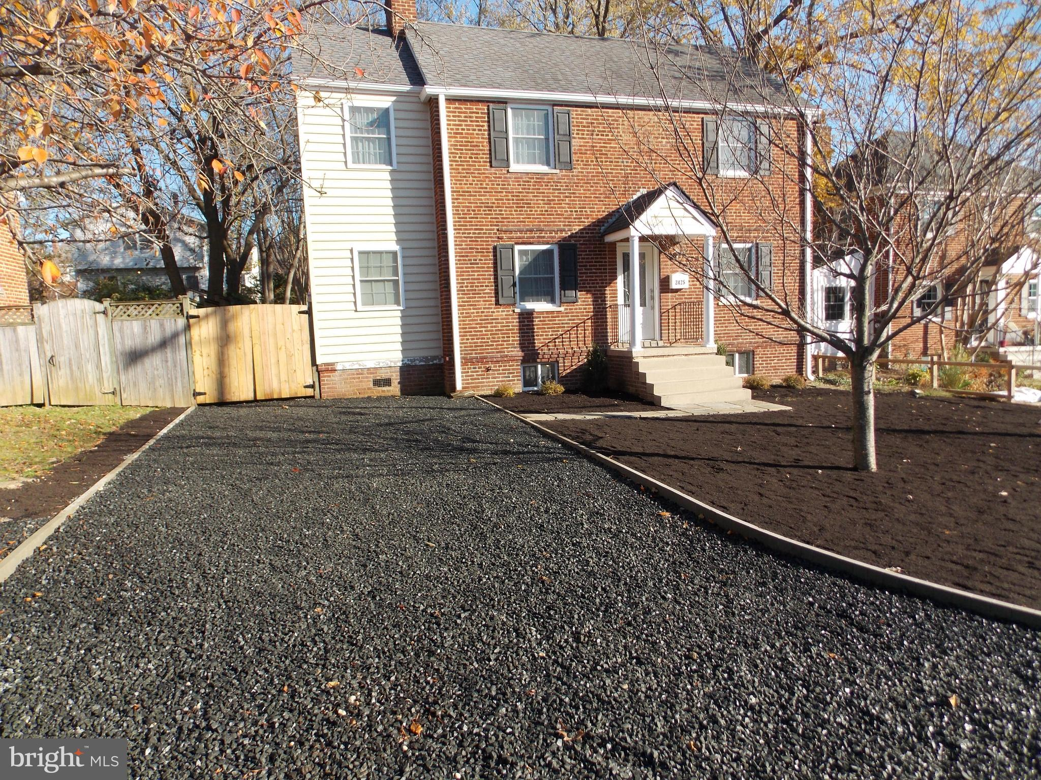 Completely renovated plus 1000 SF addition, large extended kitchen, granite counter-tops, island, breakfast bar, new bathrooms, master suite, second floor laundry. all new plumbing, upgraded electric.  Great neighbors in a great neighborhood.  Walk your younger kids to school.  Easy commute to DC.