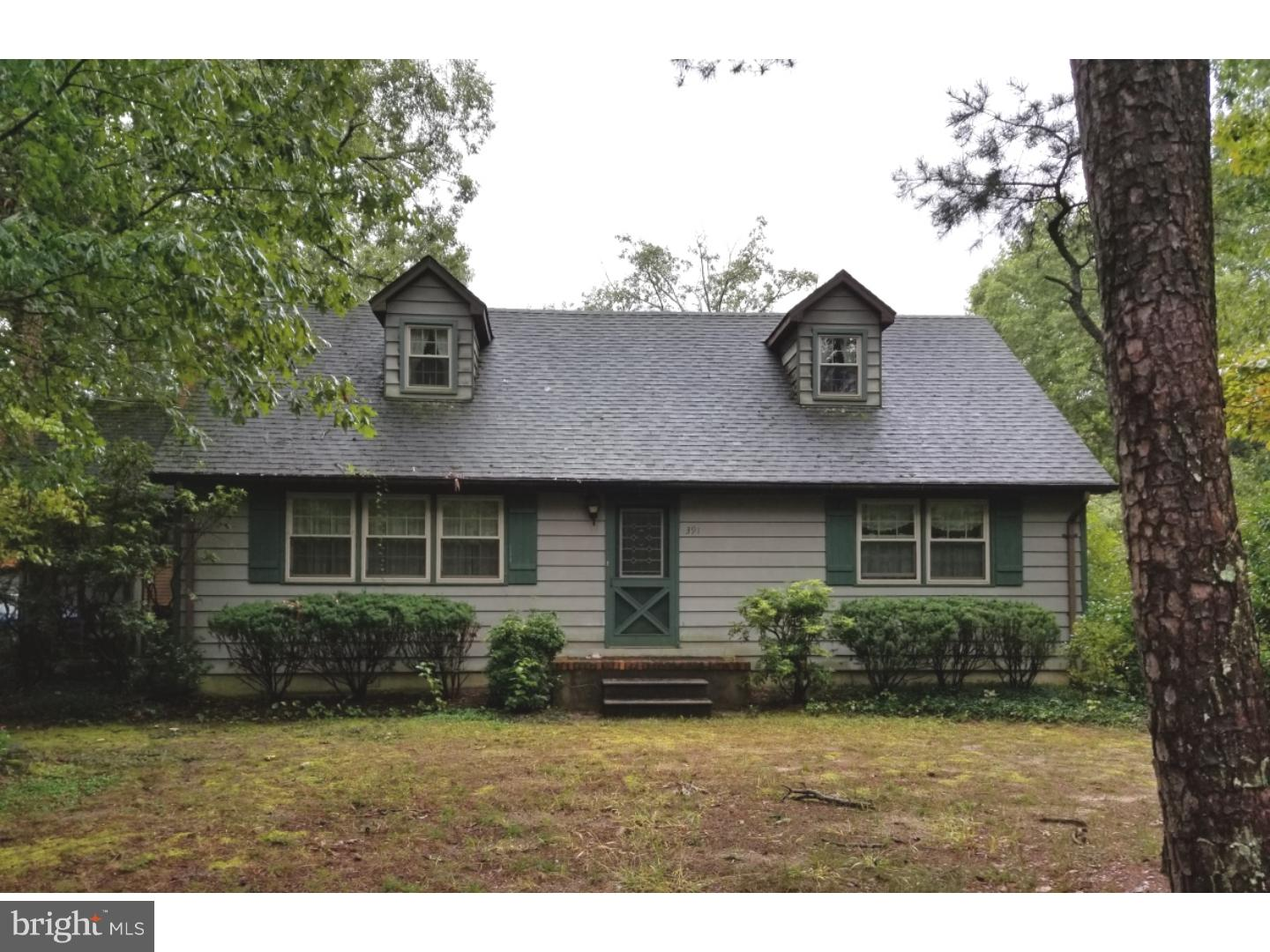 391 OLD RIVER ROAD, MAYS LANDING, NJ 08330
