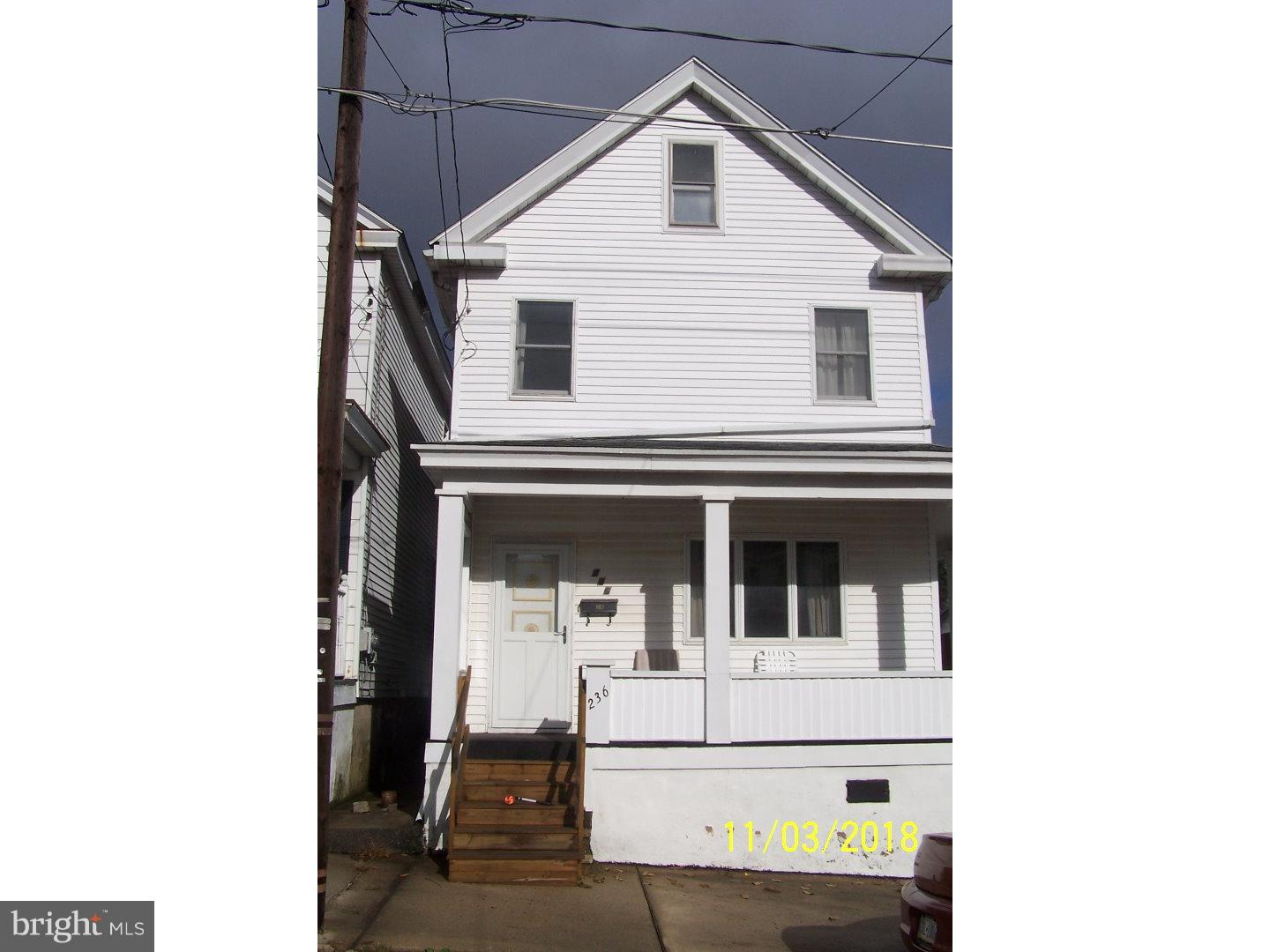 236 E FELL STREET, SUMMIT HILL, PA 18250