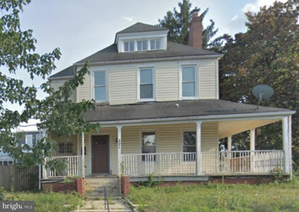 Property is vacant and needs substantial work.