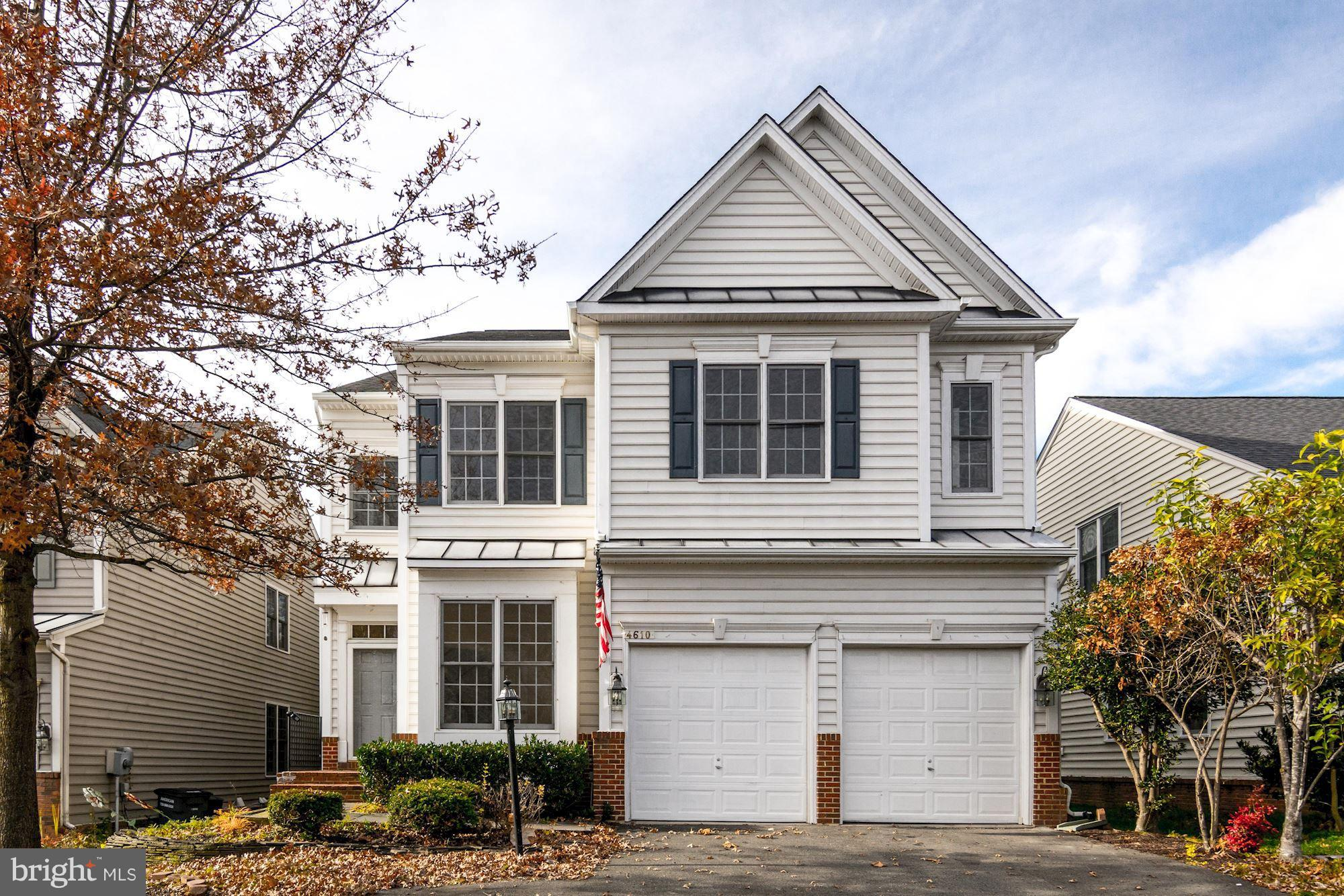 Very large (4650+sq ft) clean 4-5 BR, 3.5 BA colonial home w/2 car garage.  Great location near shopping etc. Walkup basement, with full wet bar w/dishwasher & frig. Fenced in back yard. More pictures coming soon!