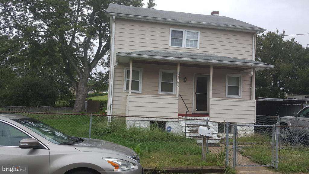 3BR w/2 1/2 bath cape cod with attached carport. Needs some cosmetics and updating. Conveniently located near BW Parkway and 95.  Seller will make no repairs sold AS-IS.