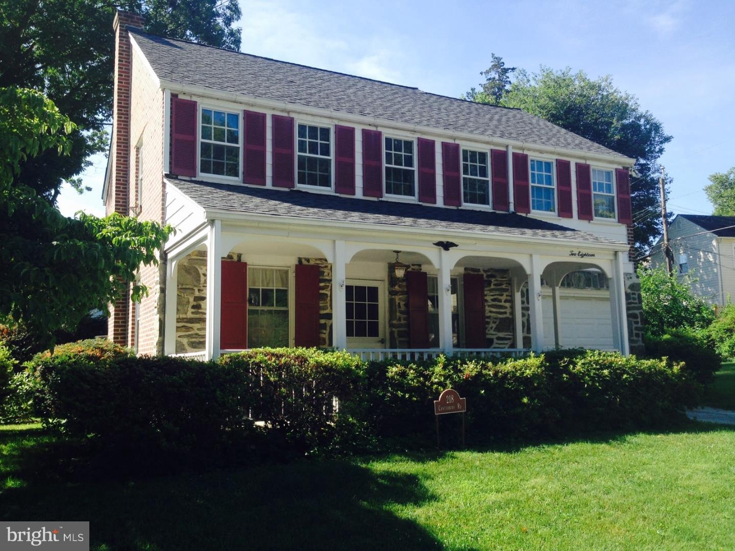 218 Canterbury Road Havertown, PA 19083