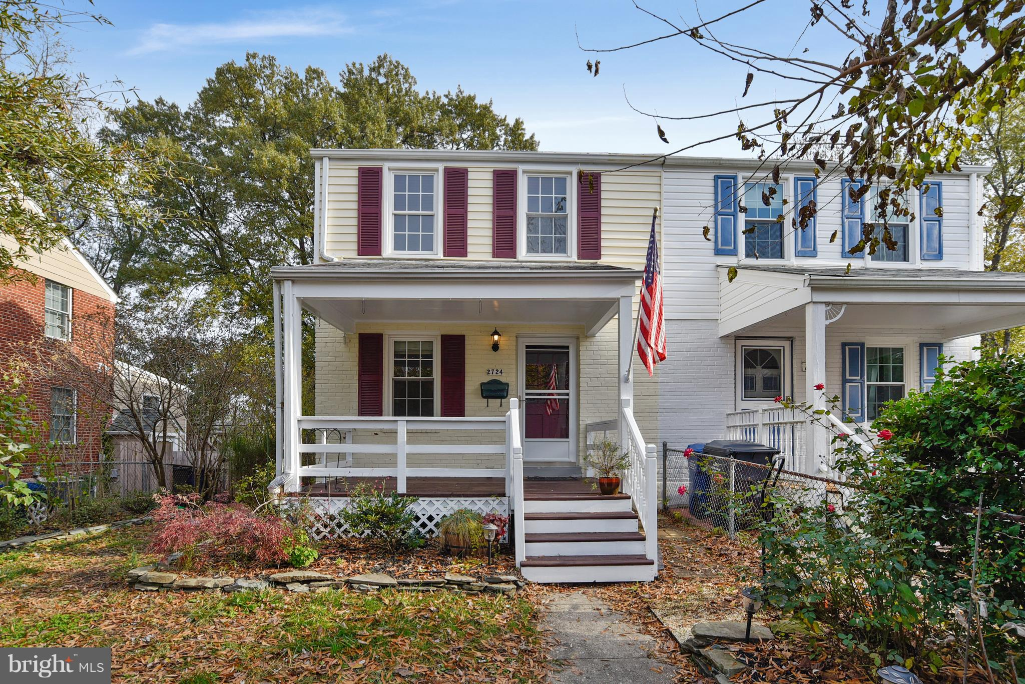 Walk to Huntington Metro!  Nursery/den/office on bedroom level.  Finished lower level with full bedroom, rec room and storage!  Gleaming hardwood floors on main and upper levels. First floor family room overlooking fenced back yard.