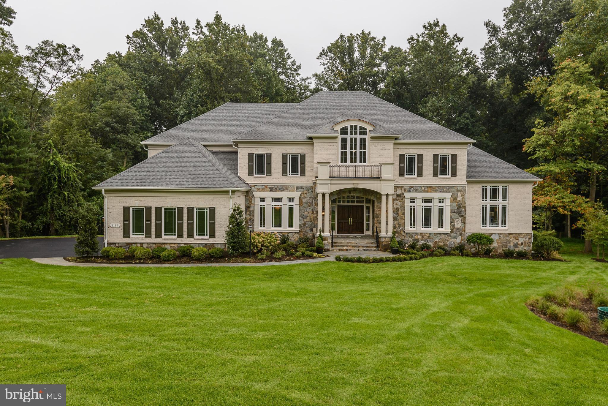 Welcome to Vale Crest, Oakton's Finest Development! Delivery in Spring of 2018. 4-side brick Winthrop model with conservatory, sun room, Main level bedroom/library, upgraded trim package, gourmet kitchen and an abundance of natural light. 5 Bedrooms, 8.5 bathrooms, 4-car garage. Fully finished walk-out lower level. (Photos are of similar, furnished model.) Completed Sept '18.